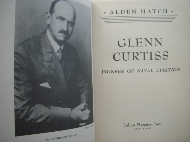 Image for Glenn Curtiss; Pioneer of Flight