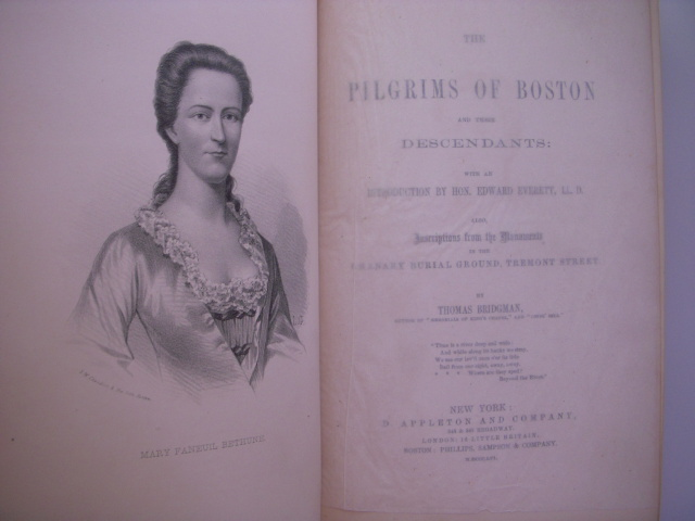 Image for The Pilgrims of Boston and Their Descendants