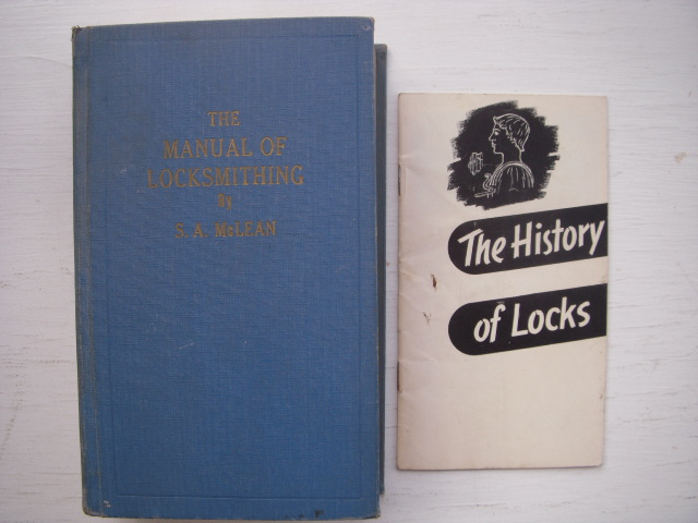 Image for The Manual of Locksmithing  (History of Locks By Yale Lock laid-in)