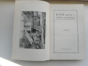 Image for KANE AND THE UPPER ALLEGHENY