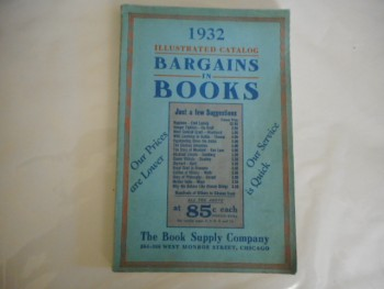 Image for bargains in books 1932 illustrated catalog