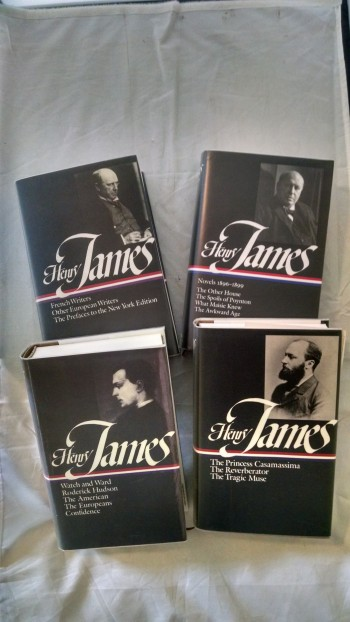 Image for HENRY JAMES NOVELS 1896-1899