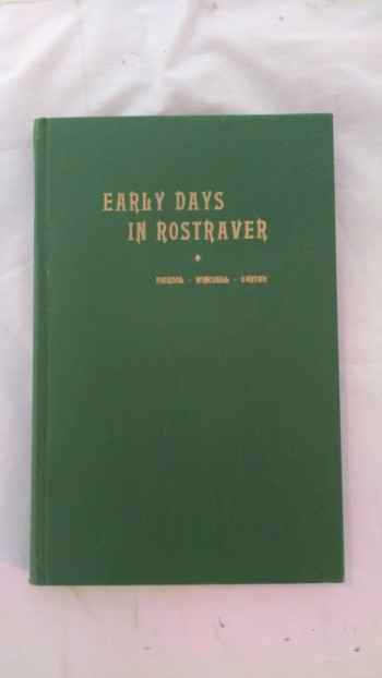 Image for EARLY MDAYS IN ROSTRAVER