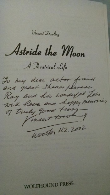 Image for ASTRIDE THE MOON  A THEATRICAL LIFE