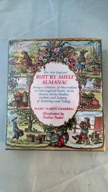 Image for THE NEW ENGLAND BUTT'RY SHELF ALMANAC