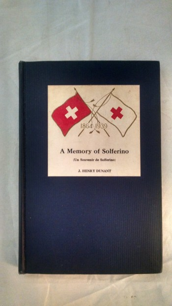 Image for A MEMORY OF SOLFERINO