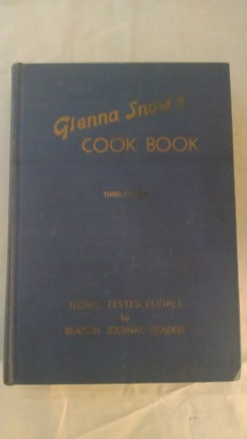 Image for GLENNA SNOW 'S COOK BOOK