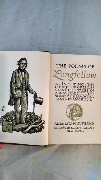 Image for THE POEMS OF LONGFELLOW