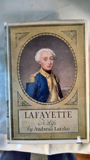 Image for LAFAYETTE A LIFE
