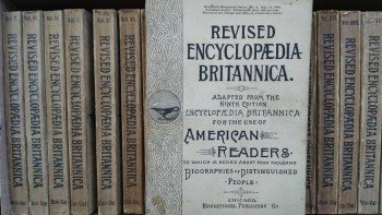 Image for THE REVISED ENCYCLOPEDIA BRITANNICA
