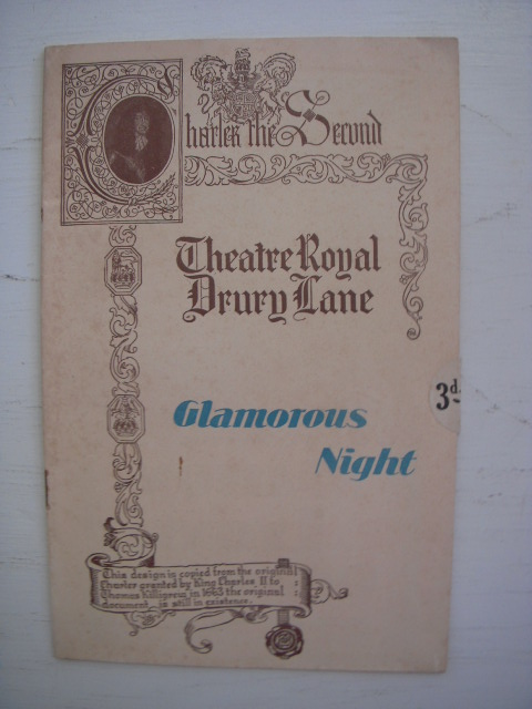 Image for Theatre Royal Drury Lane Programme; Glamorous Night