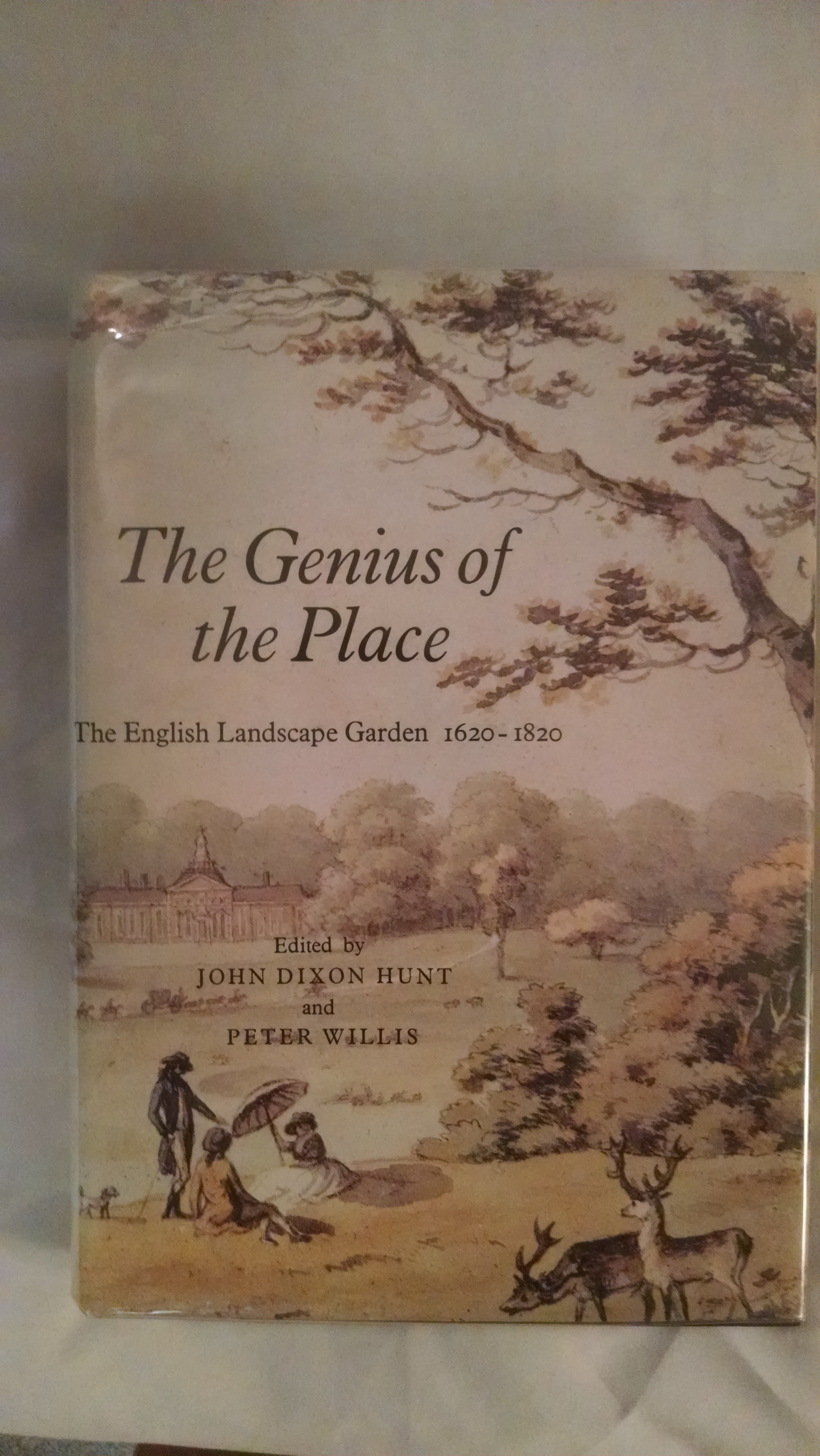 Image for THE GENIOUS OF THE PLACE  THE ENGLISH LANDSCAPE GARDEN 1620-1820