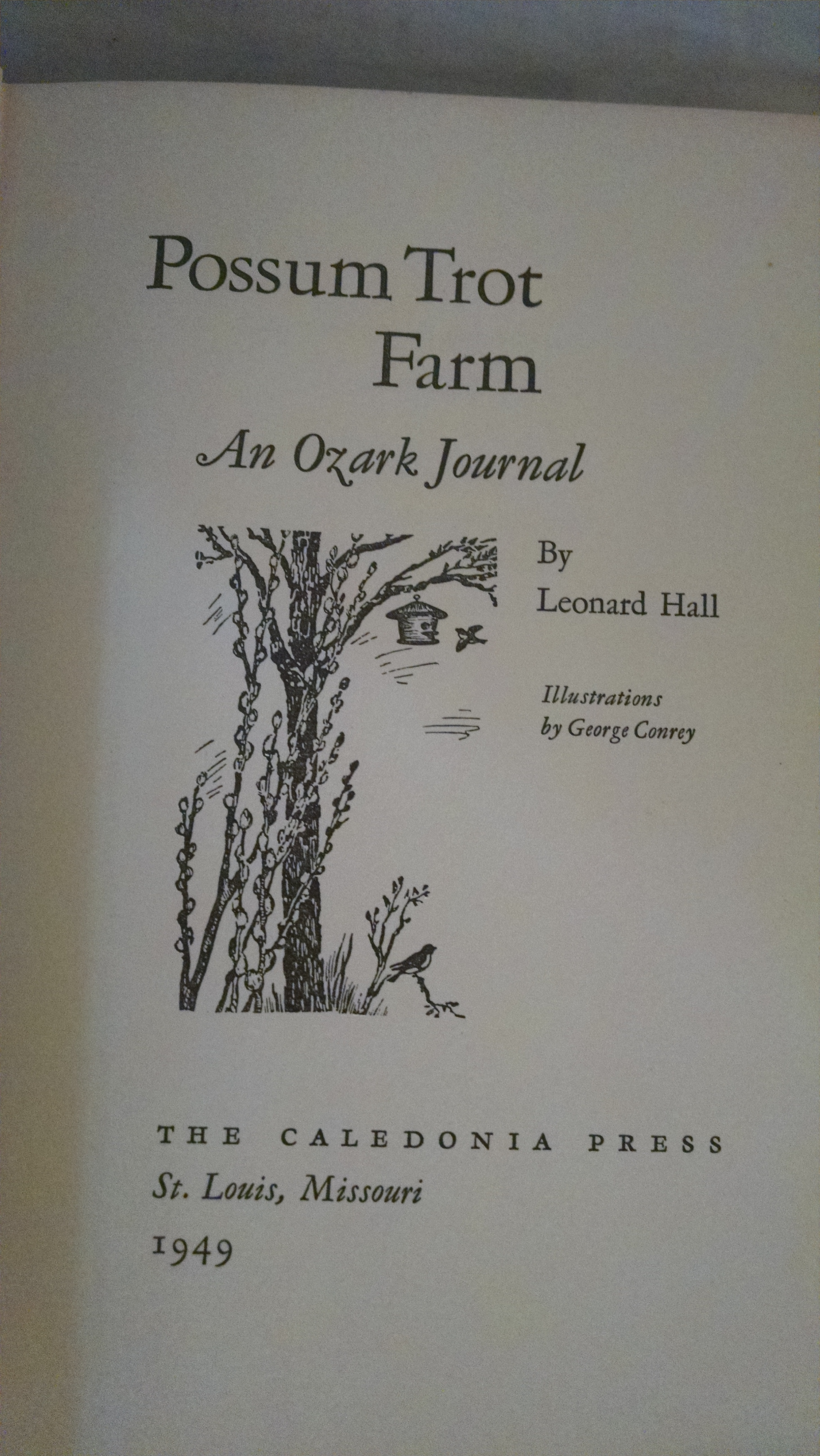 Image for POSSUM TROT FARM  AN OZARK JOURNAL