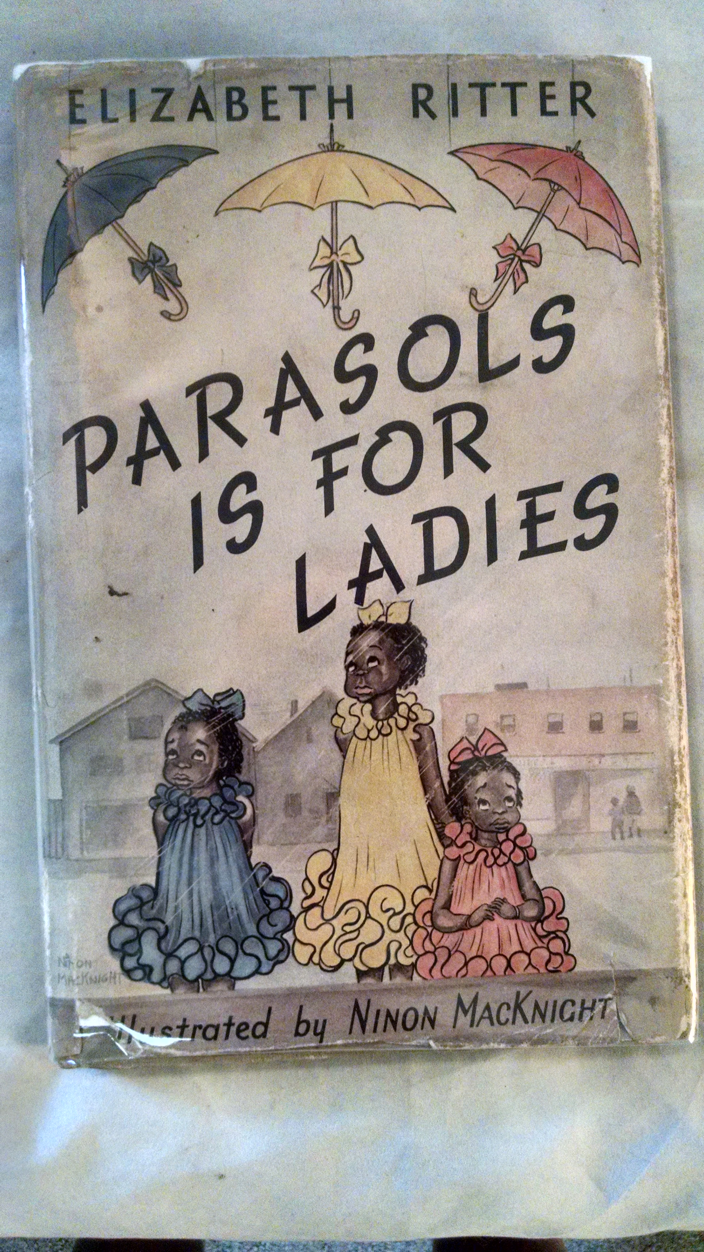 Image for PARASOLS IS FOR LADIES