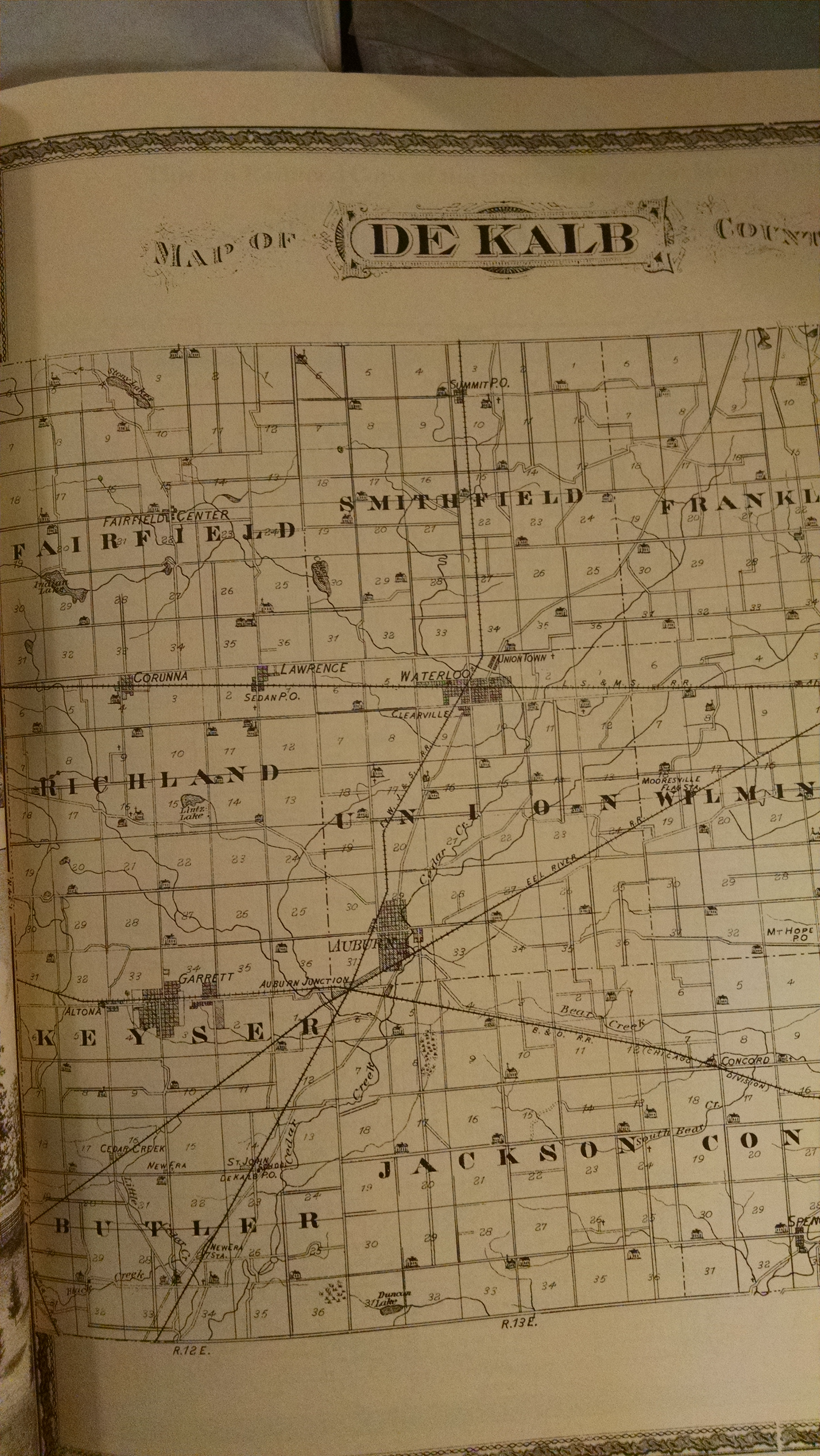 Image for ATLAS OF DE KALB COUNTY INDIANA