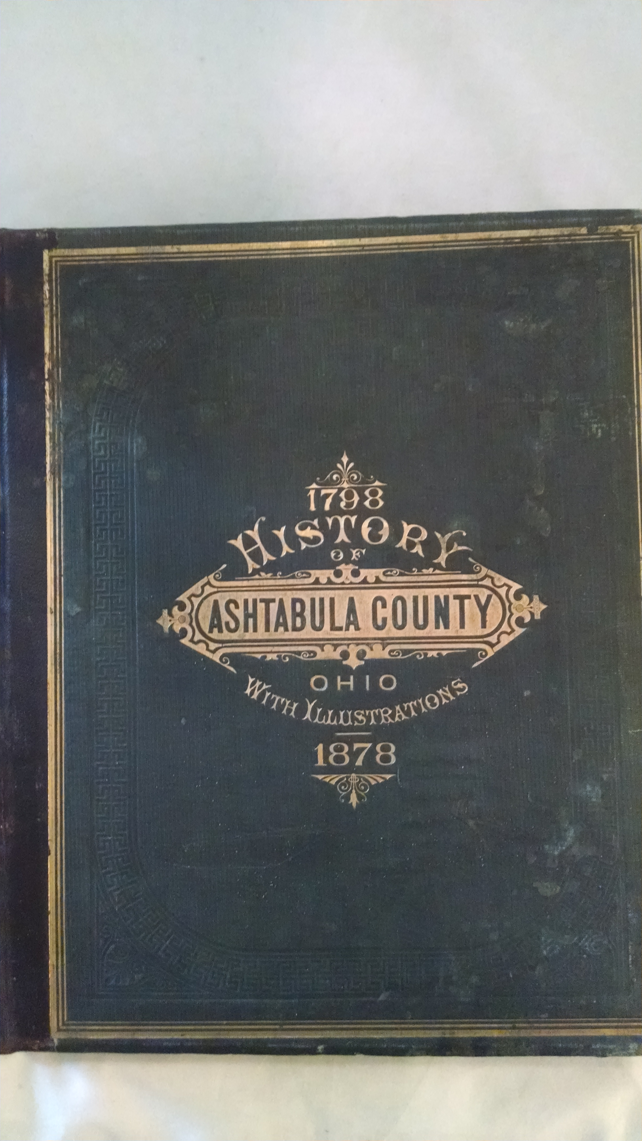Image for HISTORY OF ASHTABULA COUNTY OHIO