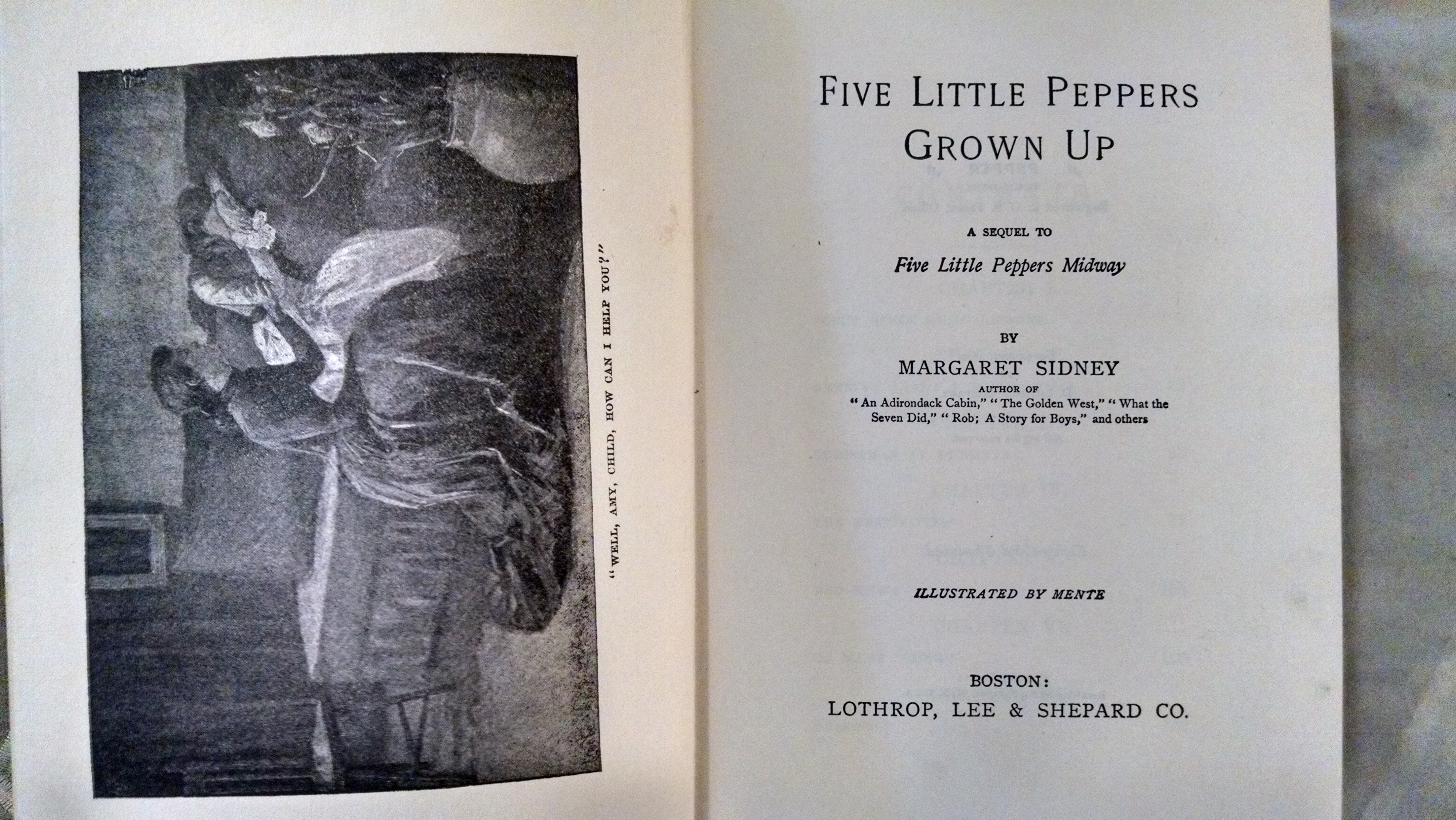 Image for FIVE LITTLE PEPPERS GROWN UP