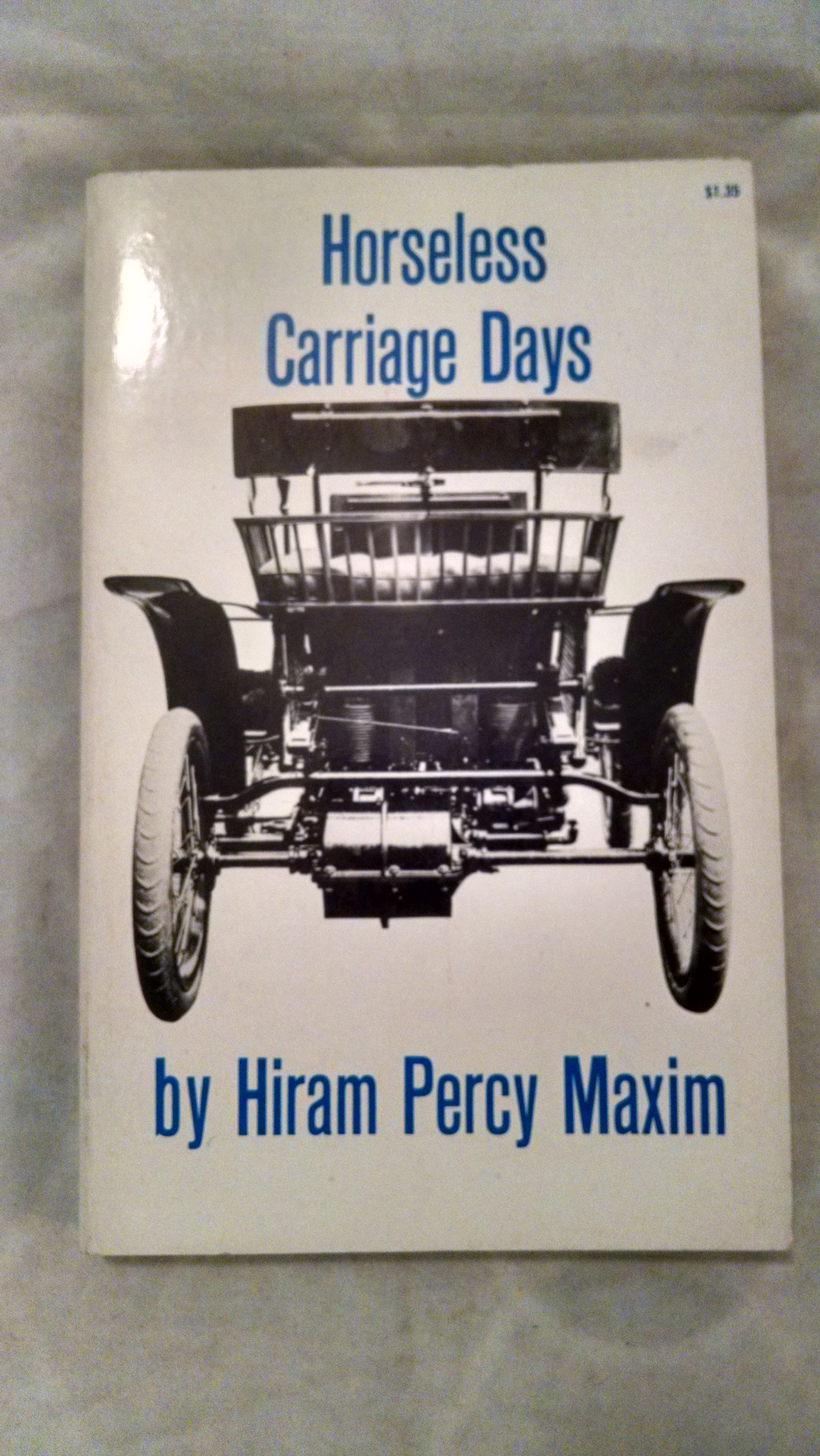 Image for HORSELESS CARRIAGE DAYS