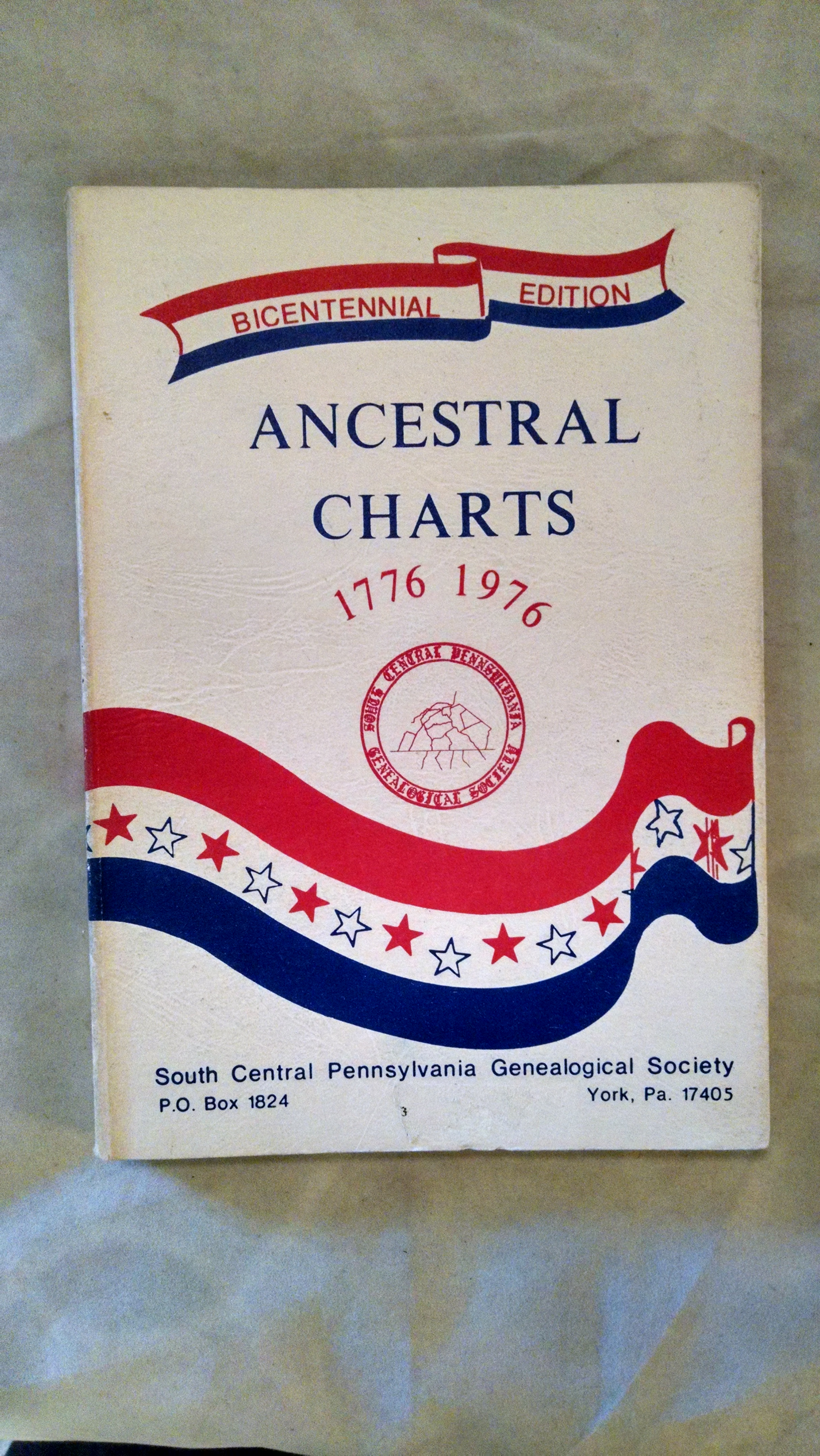 Image for ANCESTRAL CHARTS 1776  1976