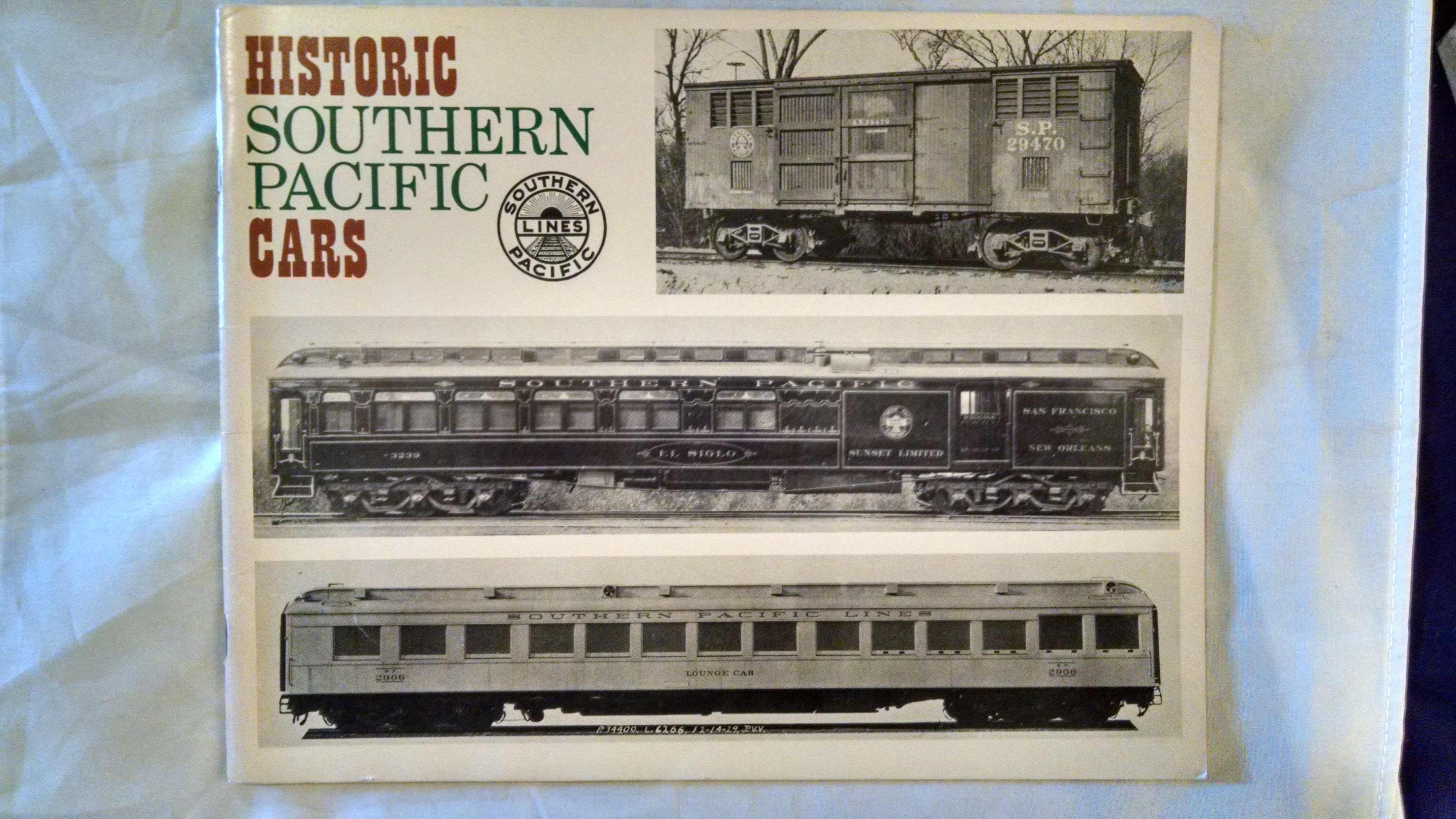Image for HISTORIC SOUTHERN PACIFIC CARS