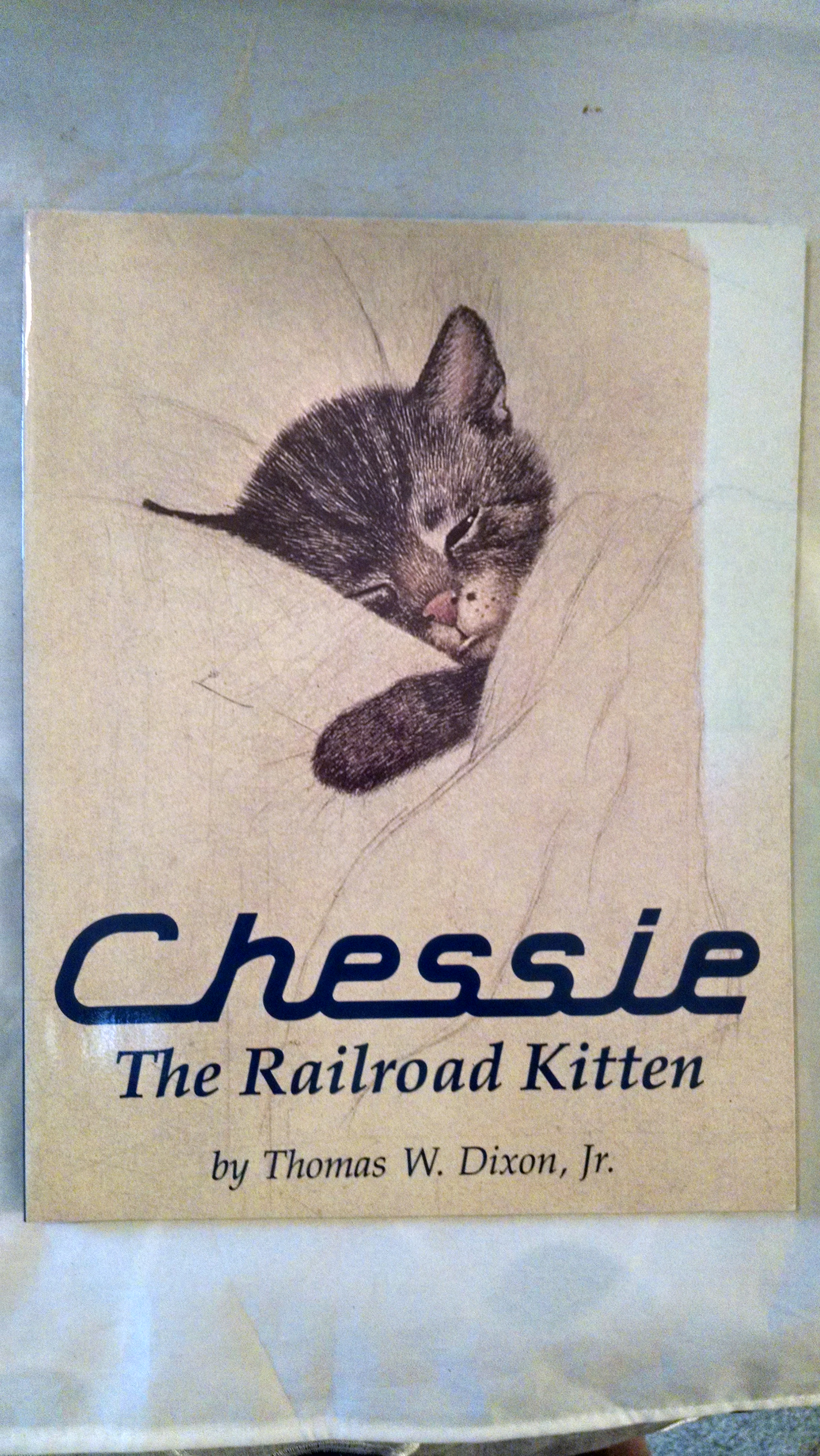Image for CHESSIE THE RAILROAD KITTEN