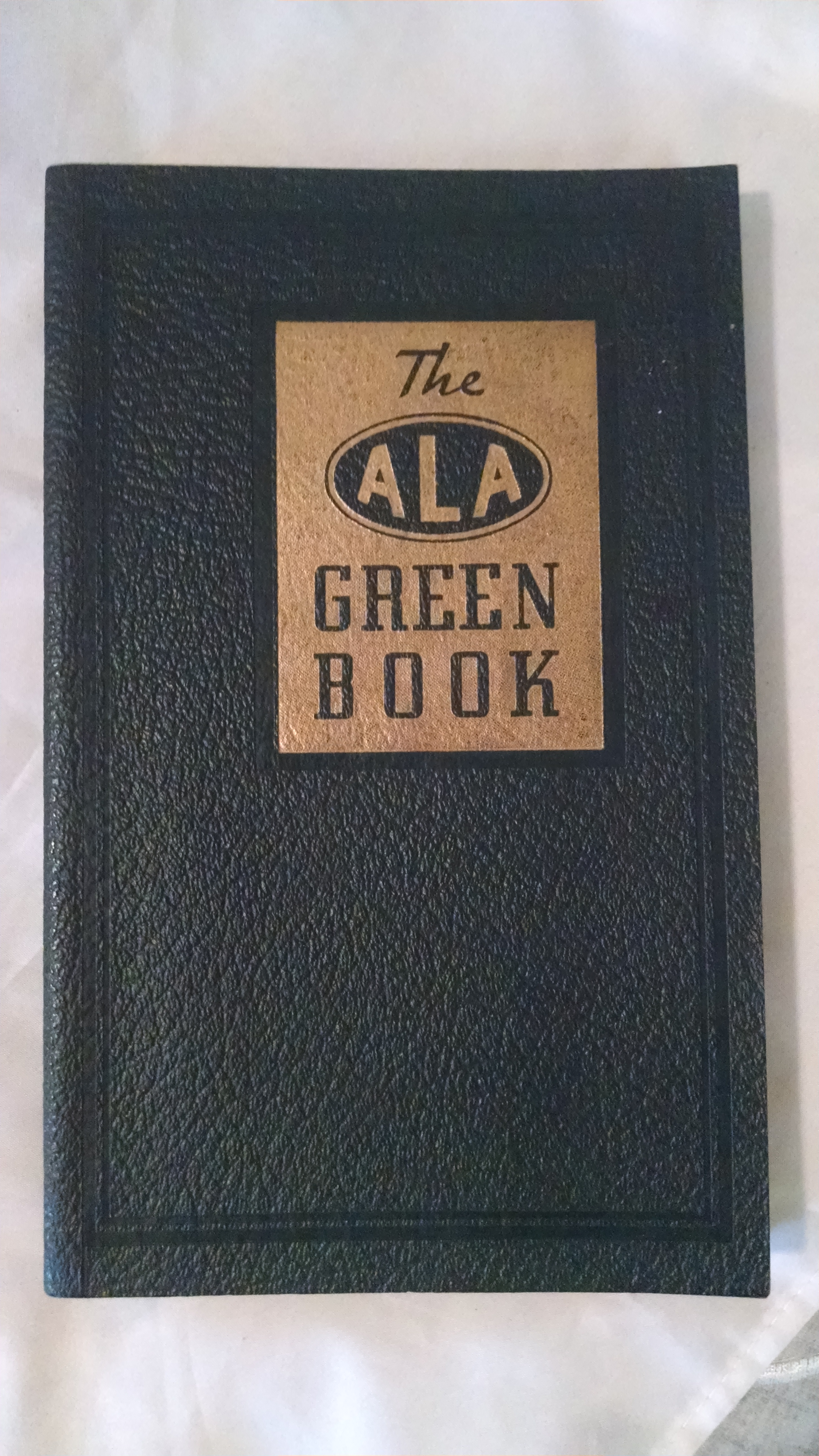 Image for ALA GREEN BOOK 1941