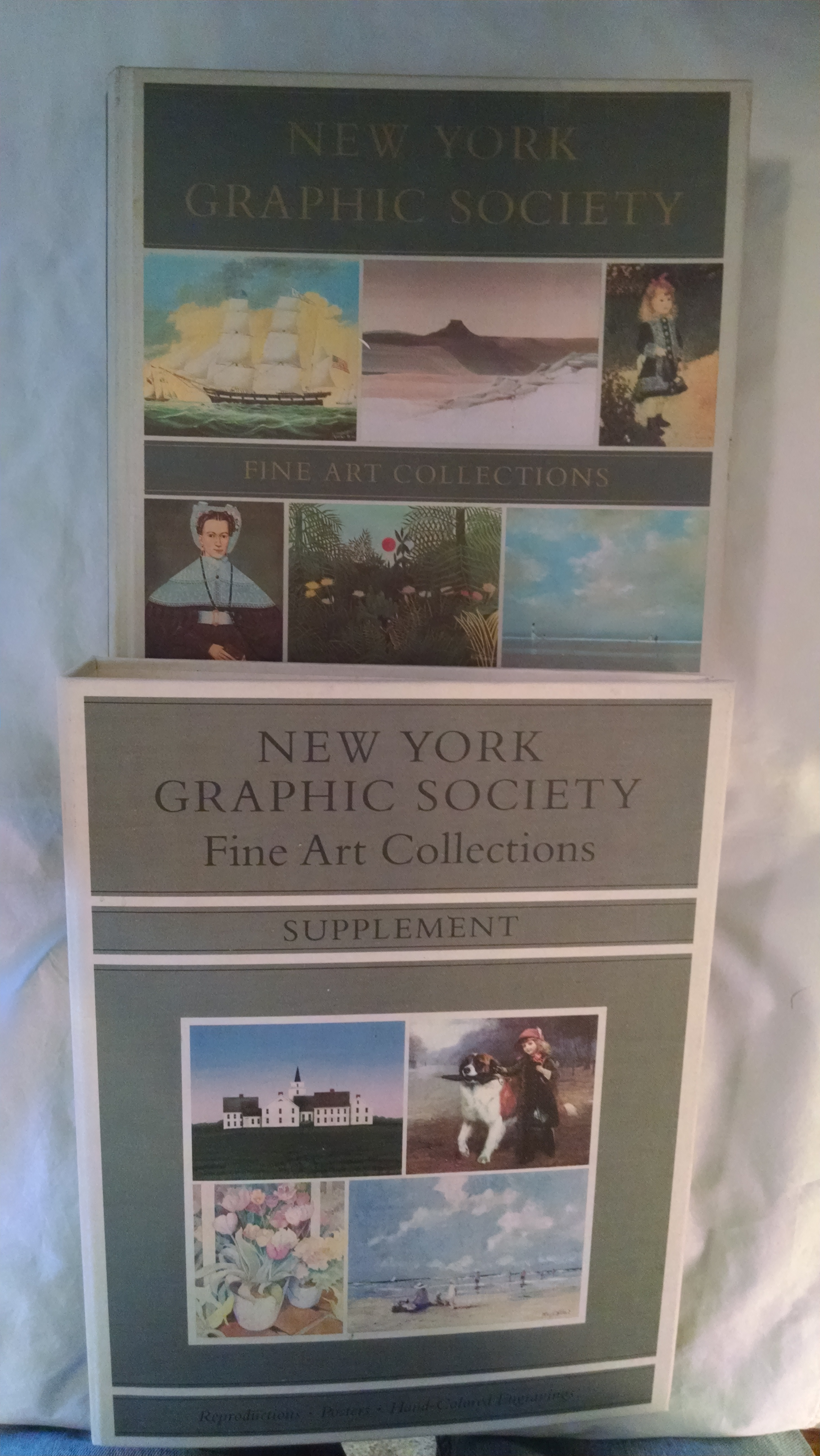 Image for NEW YORK GRAPHIC SOCIETY FINE ART COLLECTION CATALOG  1986  WITH SUPPLEMENT
