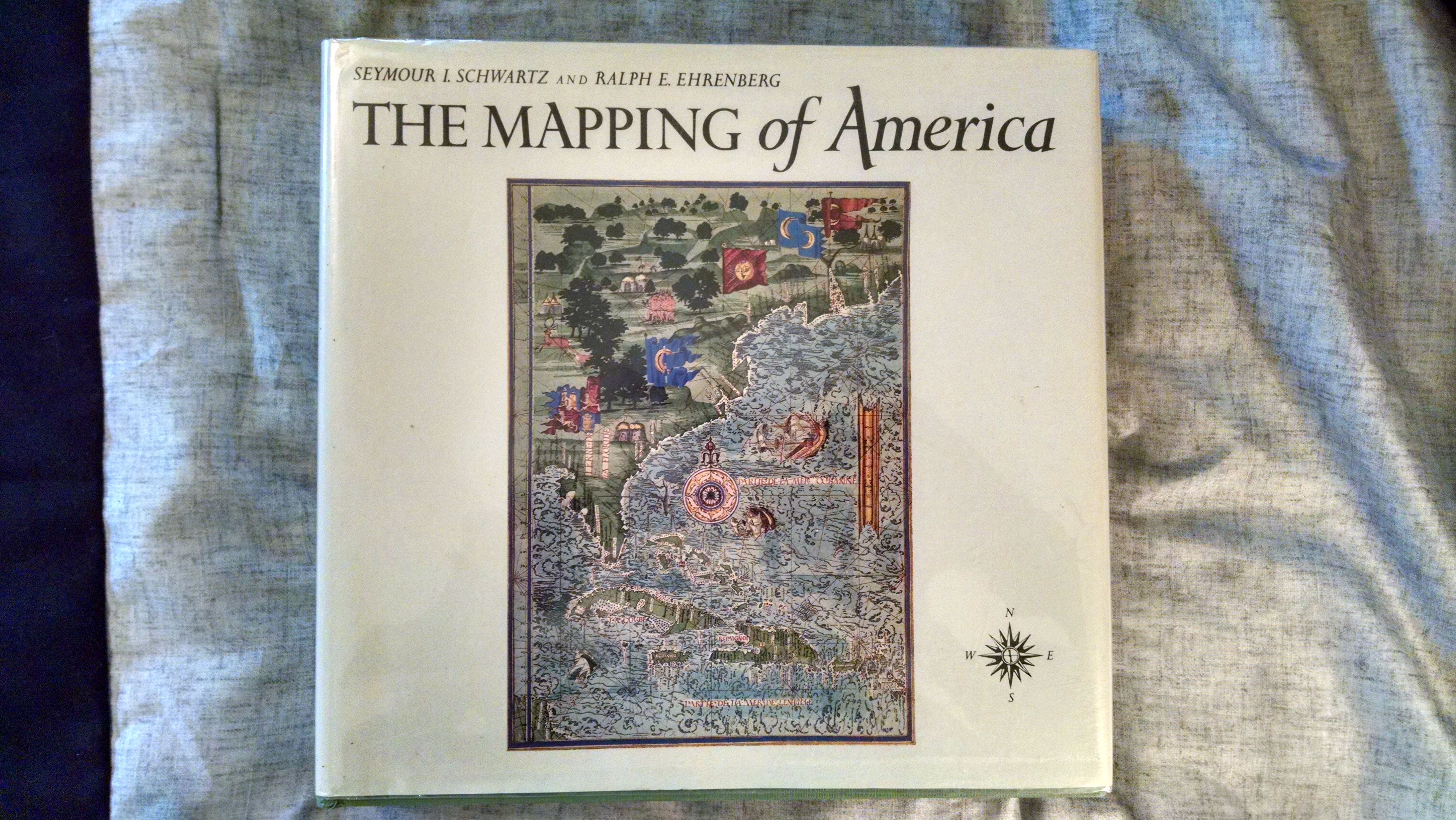Image for THE MAPPING OF AMERICA