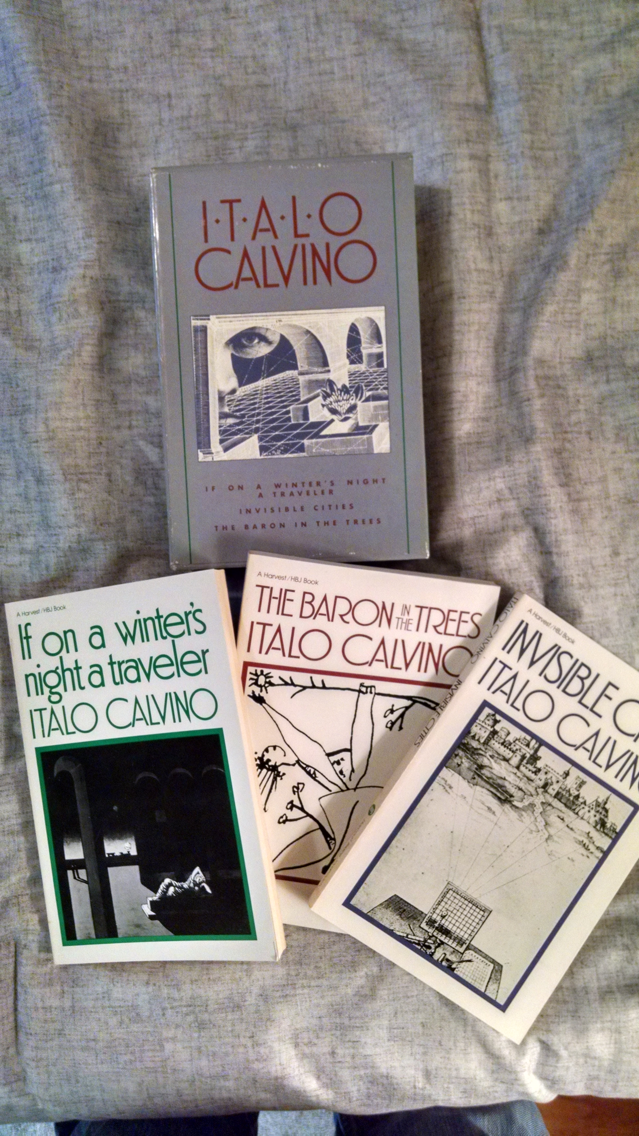 Image for ITALIO CALVINO[ 3 VOLUME BOXED SET]