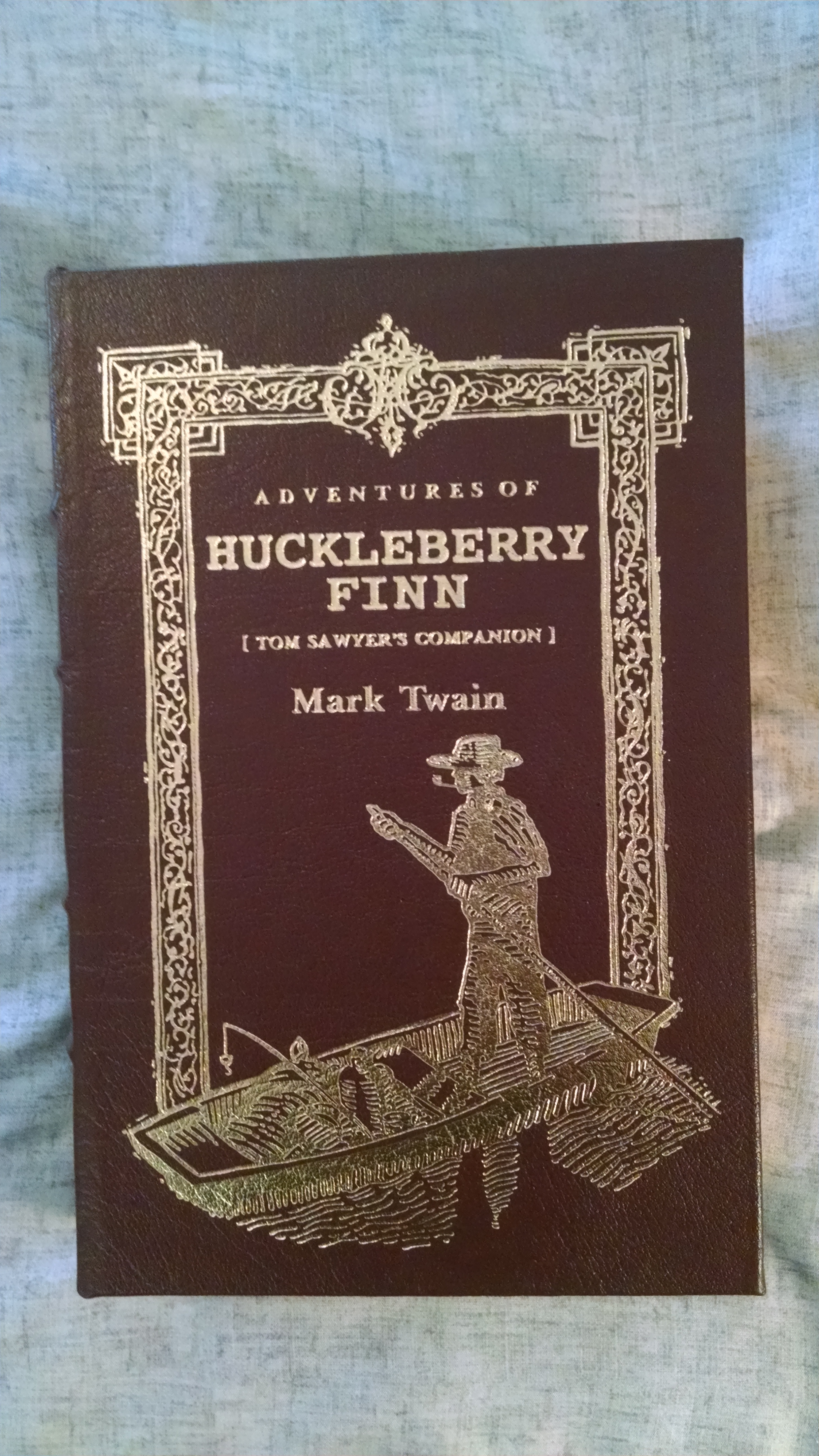Image for ADVENTURES OF HUCKLEBERRY FIN