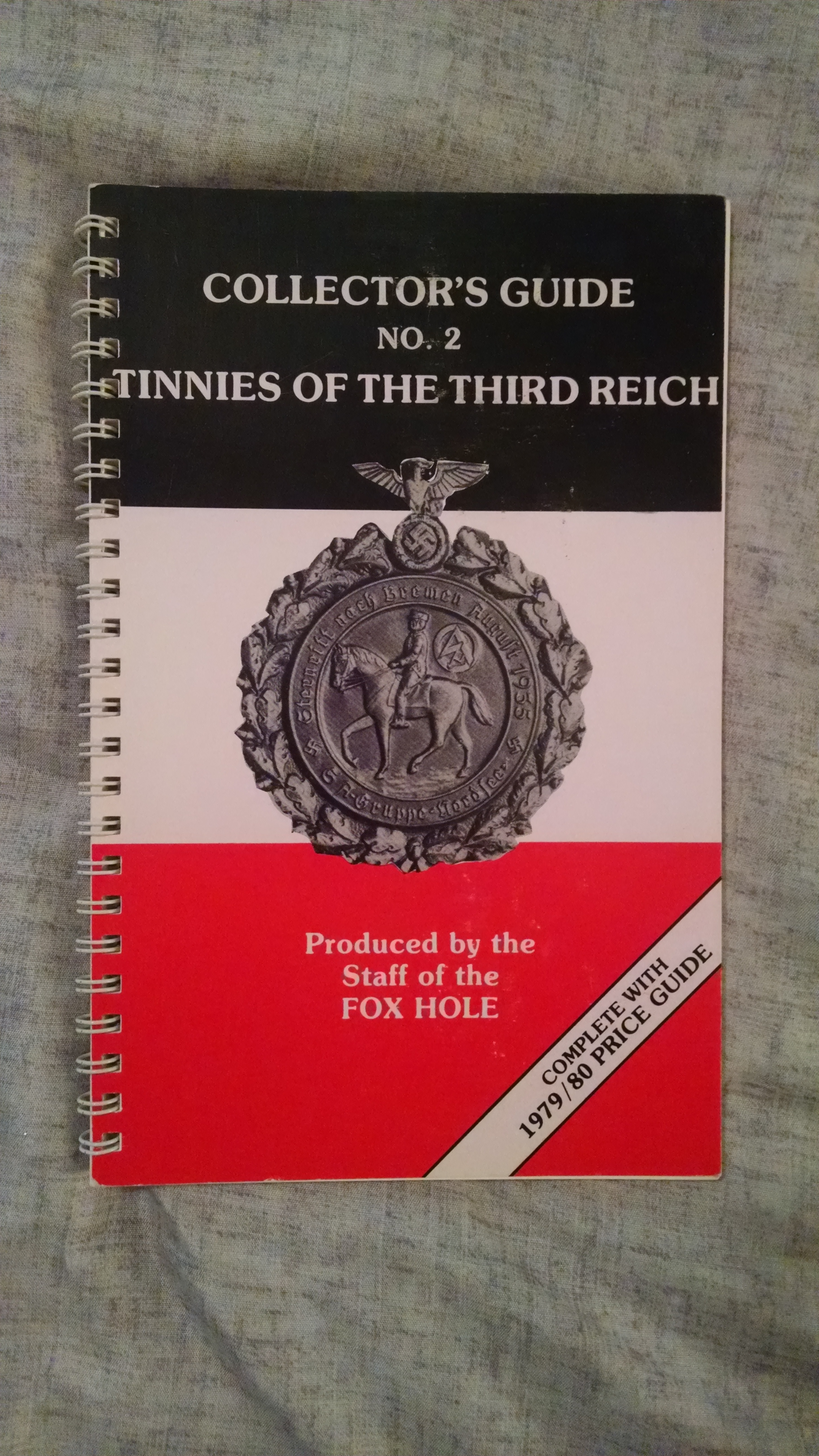 Image for COLLECTOR'S GUIDE N0 2  TINNIES OF THE THIRD REICH