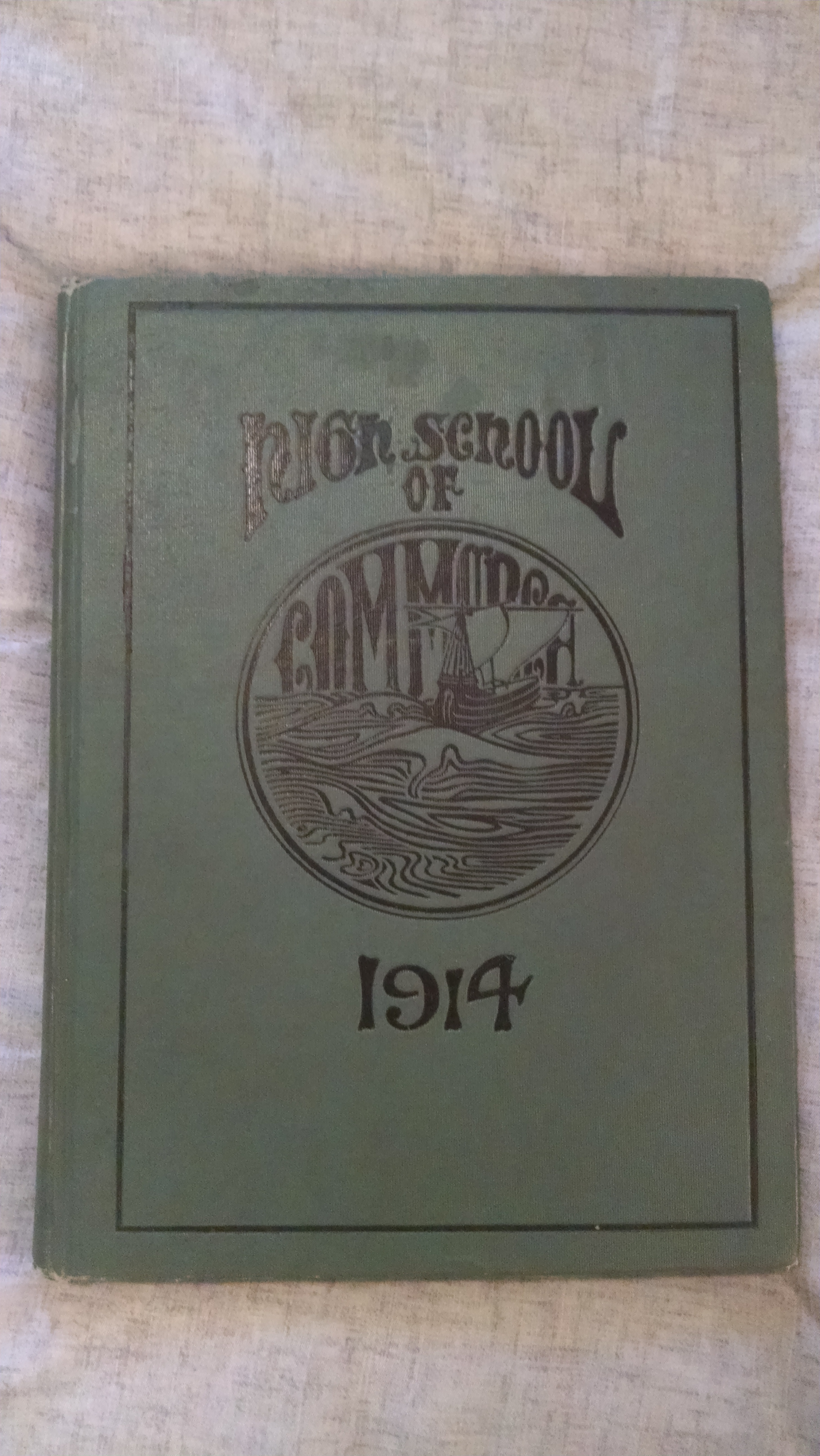 Image for HIGH SCHOOL OF COMMERCE 1914