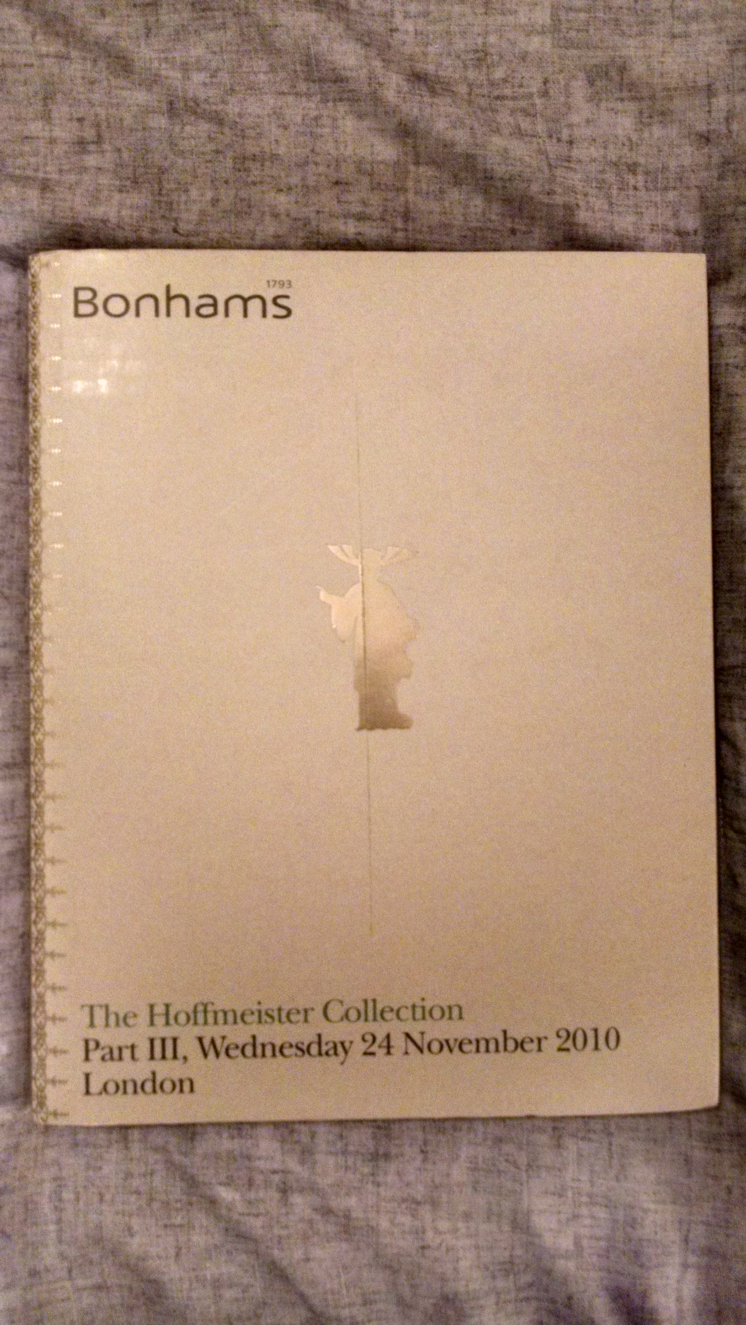 Image for BONHAMS   THE HOFFMEISTER COLLECTION PART 3