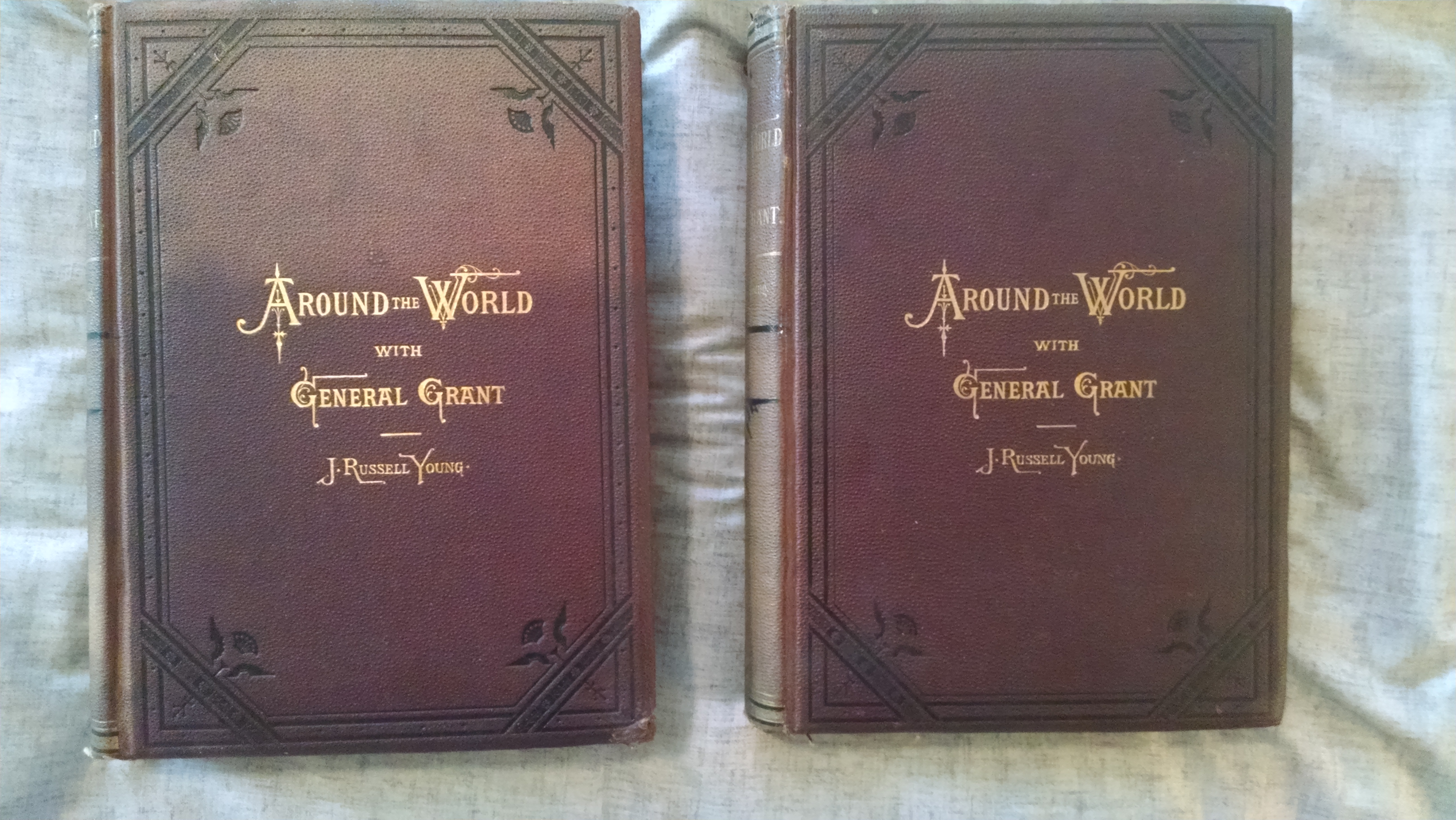 Image for AEOUND THE WORLD WITH GENERAL GRANT     2 VOL SET