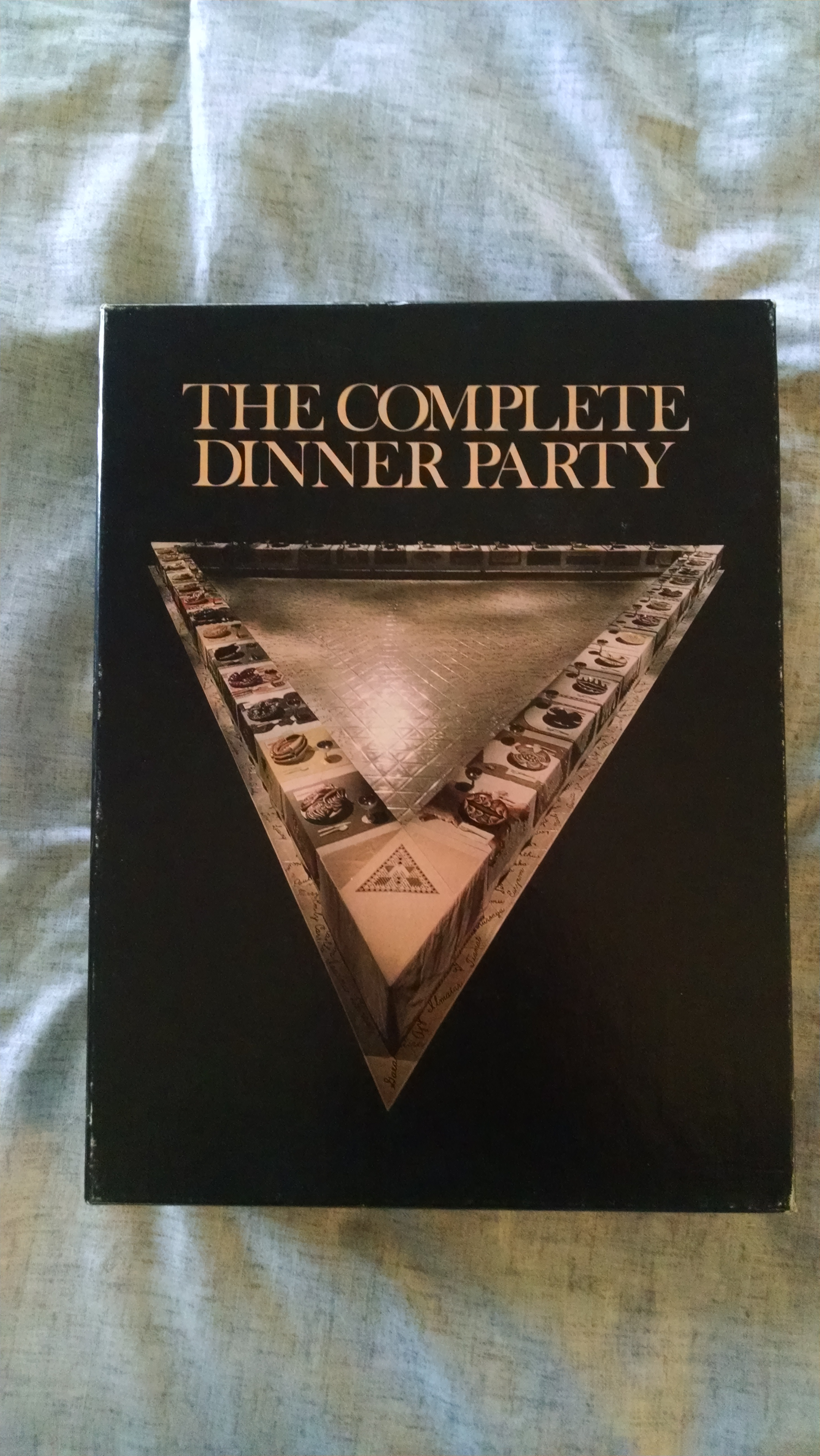 Image for THE COMPLETE DINNER PARTY   THE DINNER PARTY  &  THE DINNER PARTY NEEDLEWORK