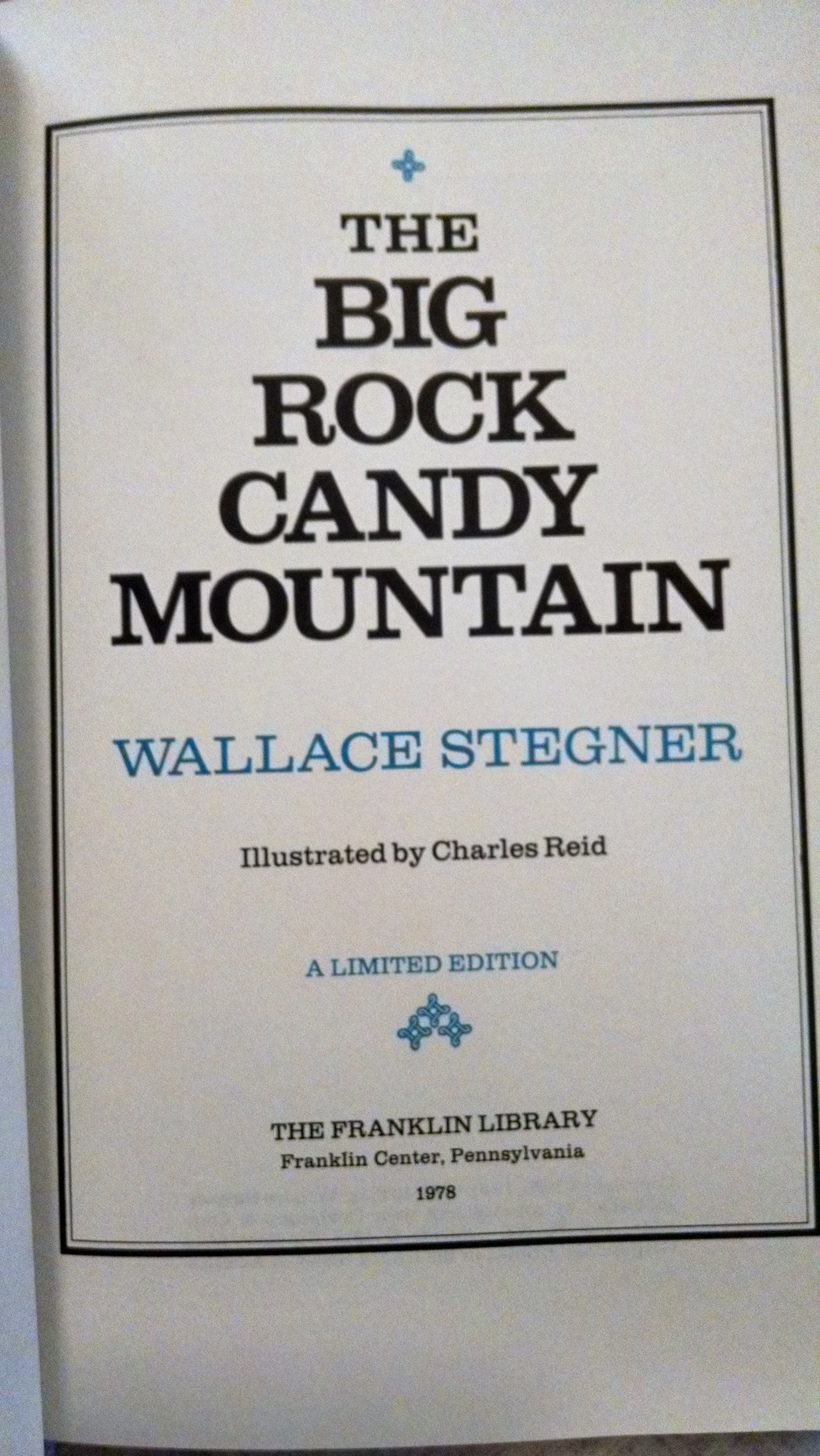 Image for THE BIG ROCK CANDY MOUNTAIN