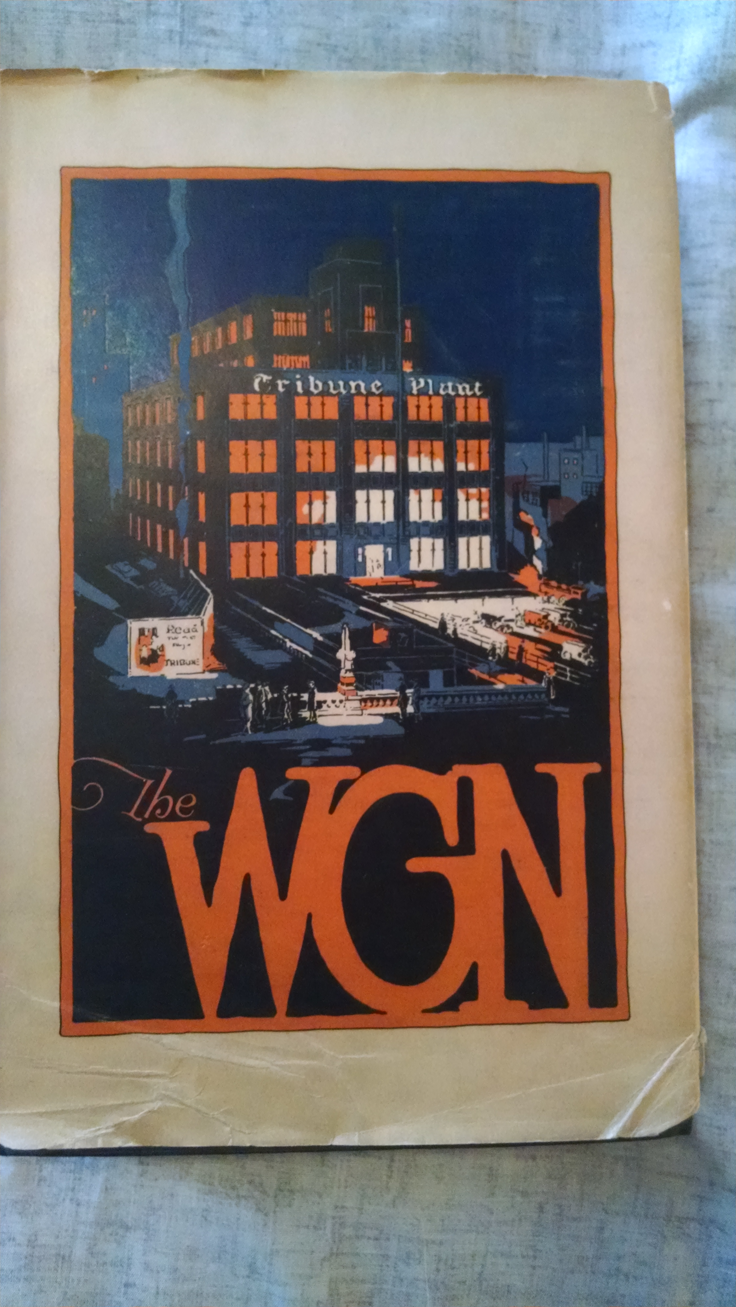 Image for THE W.G.N.  [THE WORLDS GREAT NEWSPAPER]