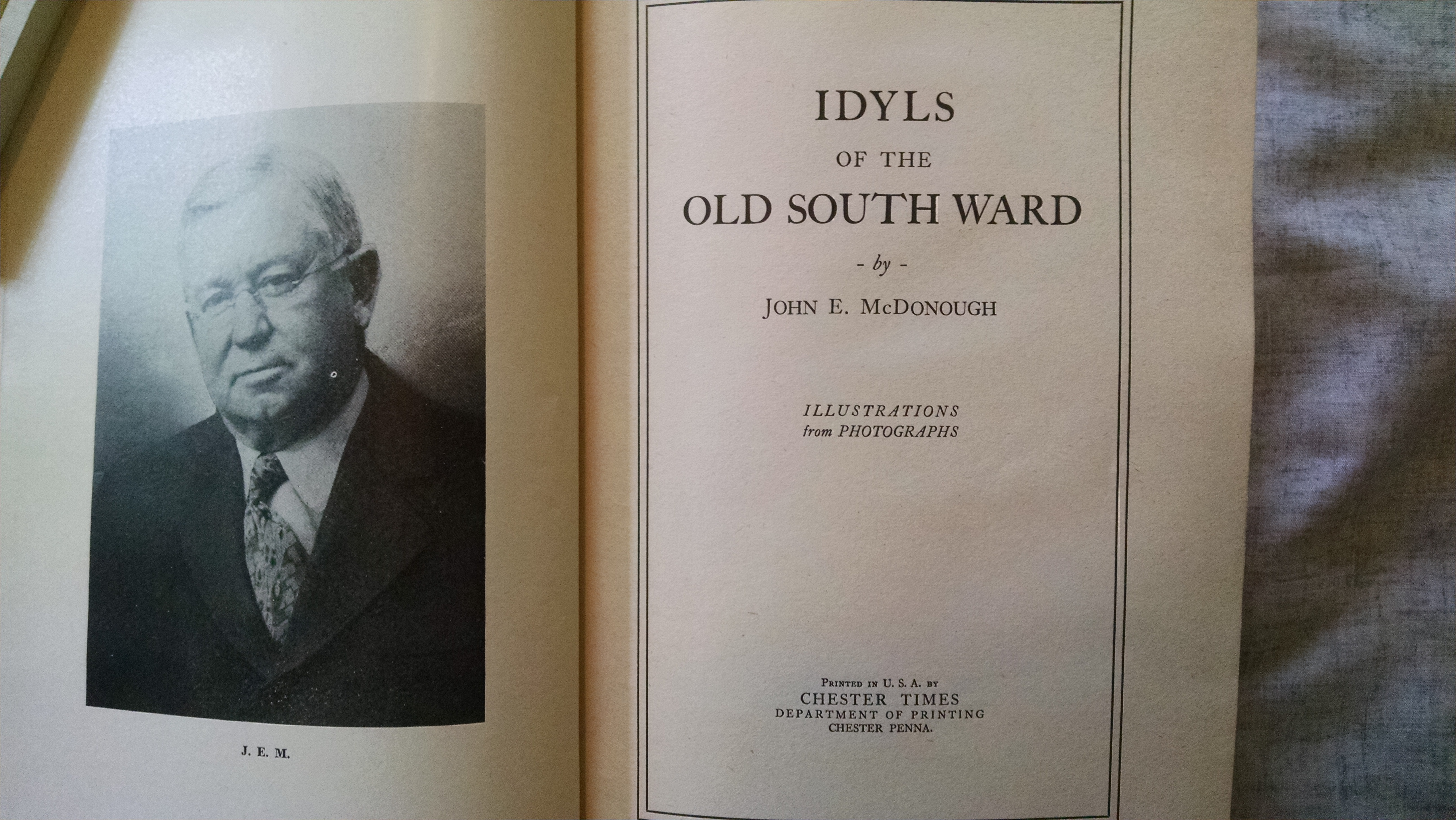 Image for IDYLS OF THE OLD SOUTH WARD