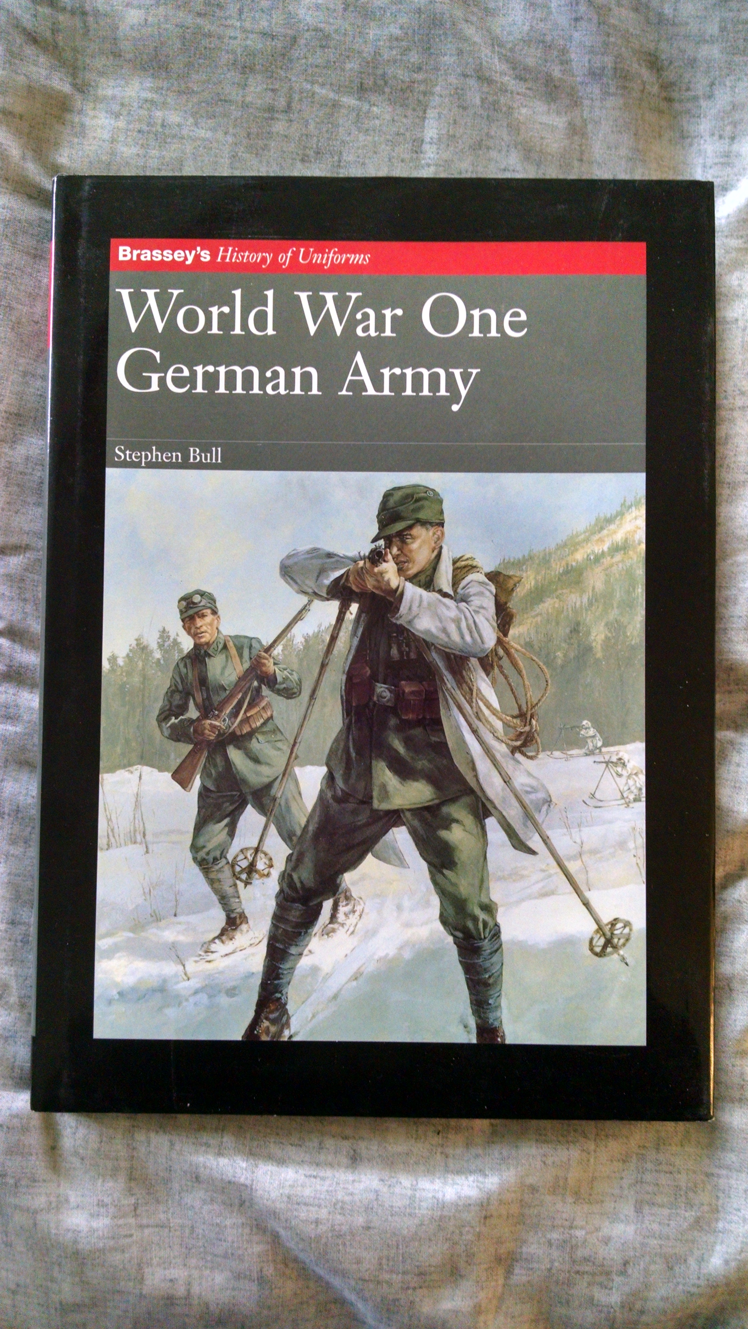 Image for BRASSEY'S HISTORY OF UNIFORMS  WORLD WAR ONE GERMAN ARMY