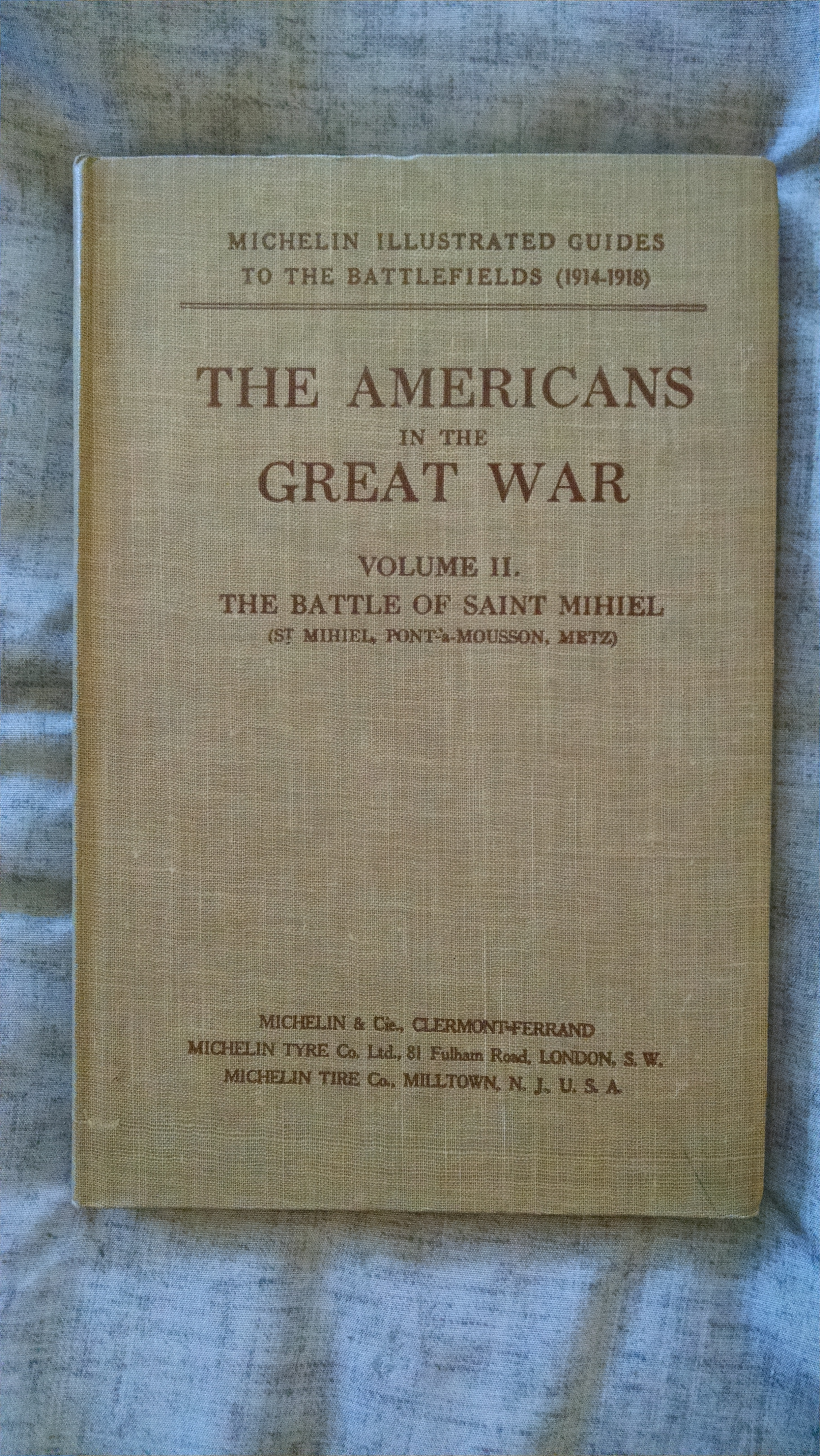Image for THE AMERICANS IN THE GREAT WAR VOL II THE BATTLE OF SAINT MIHIEL