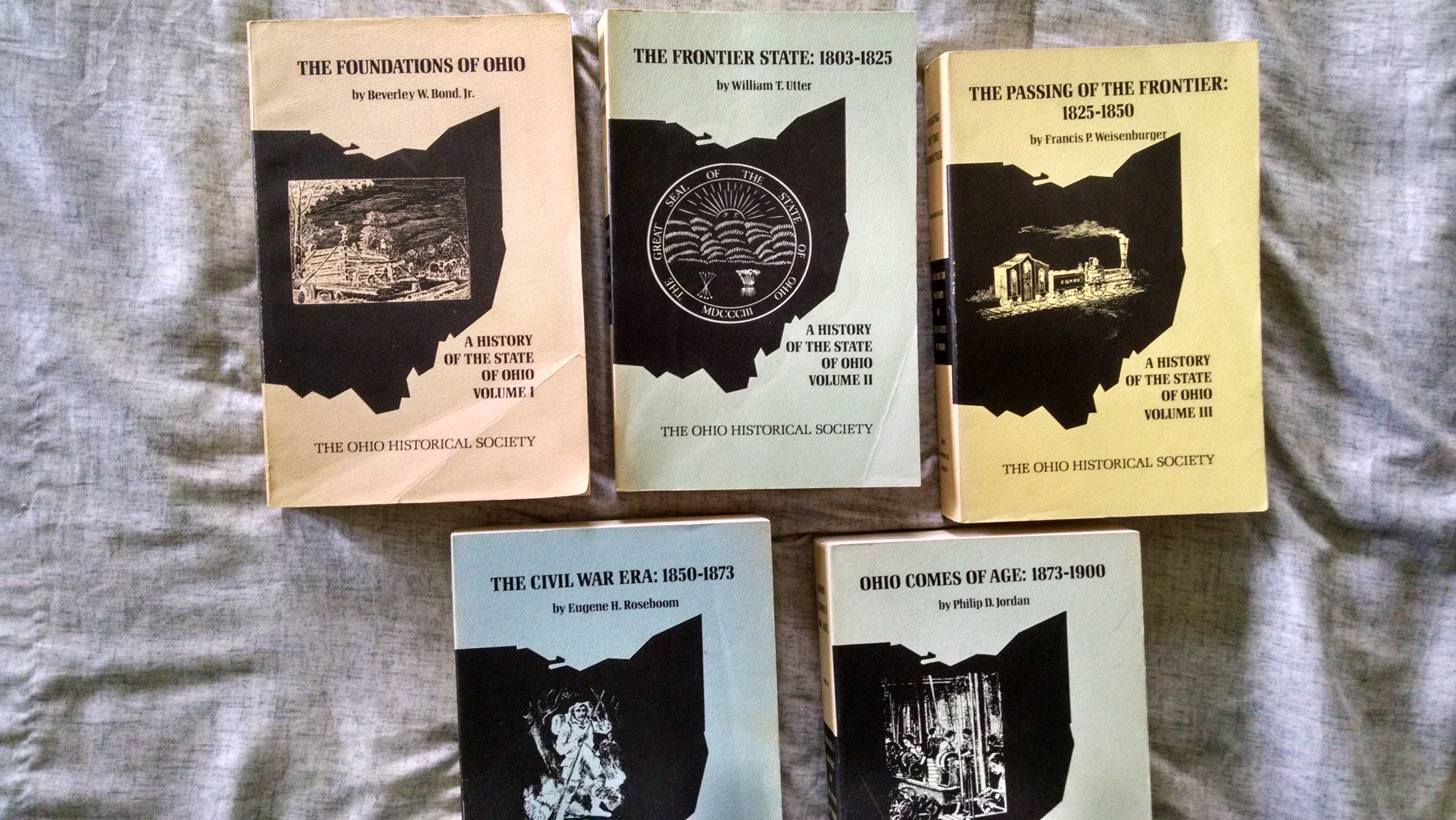 Image for A HISTORY OF THE STATE OF OHIO   5 VOL. SET