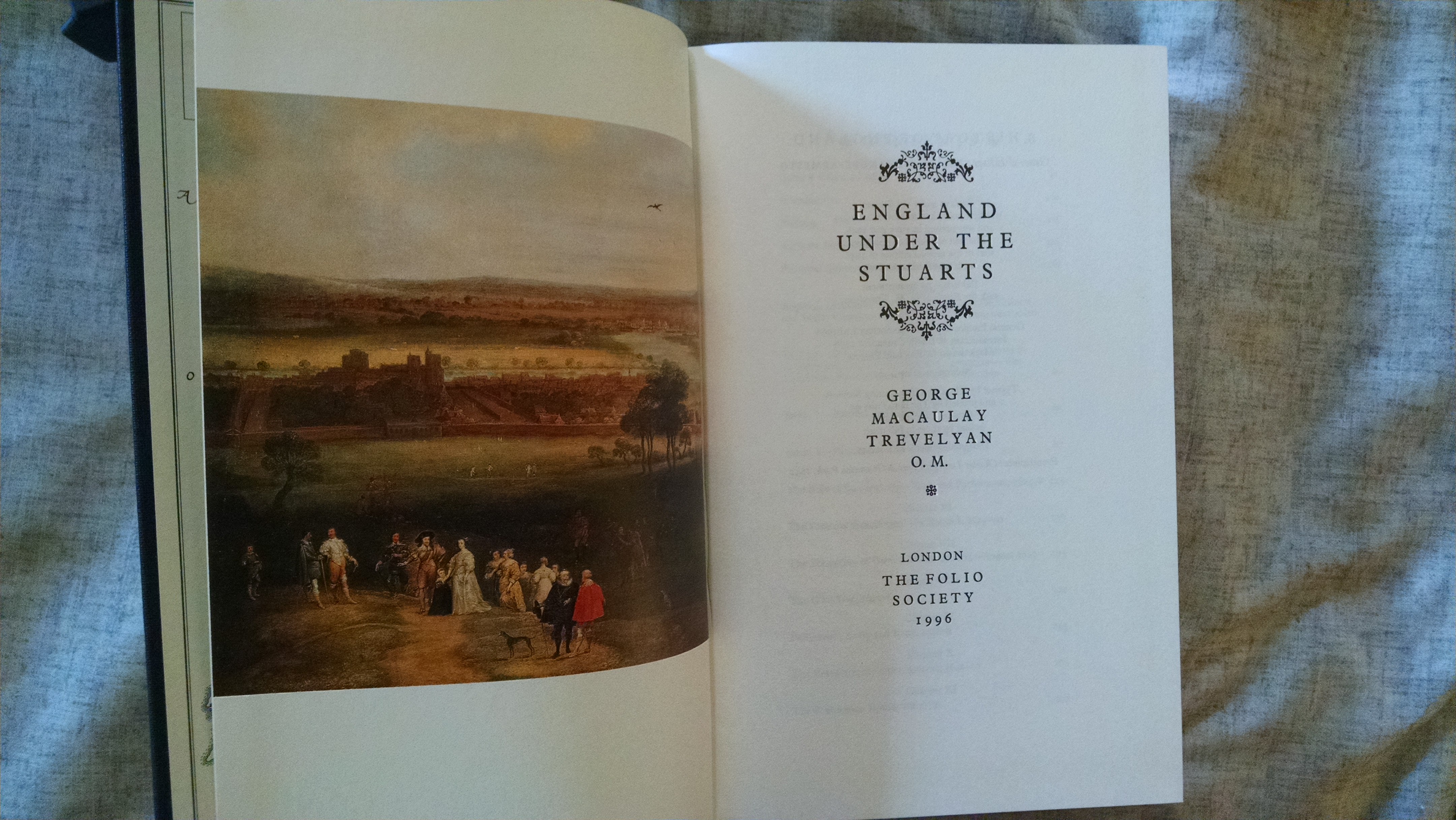 Image for A HISTORY OF ENGLAND    ENGLAND UNDER THE STUARTS