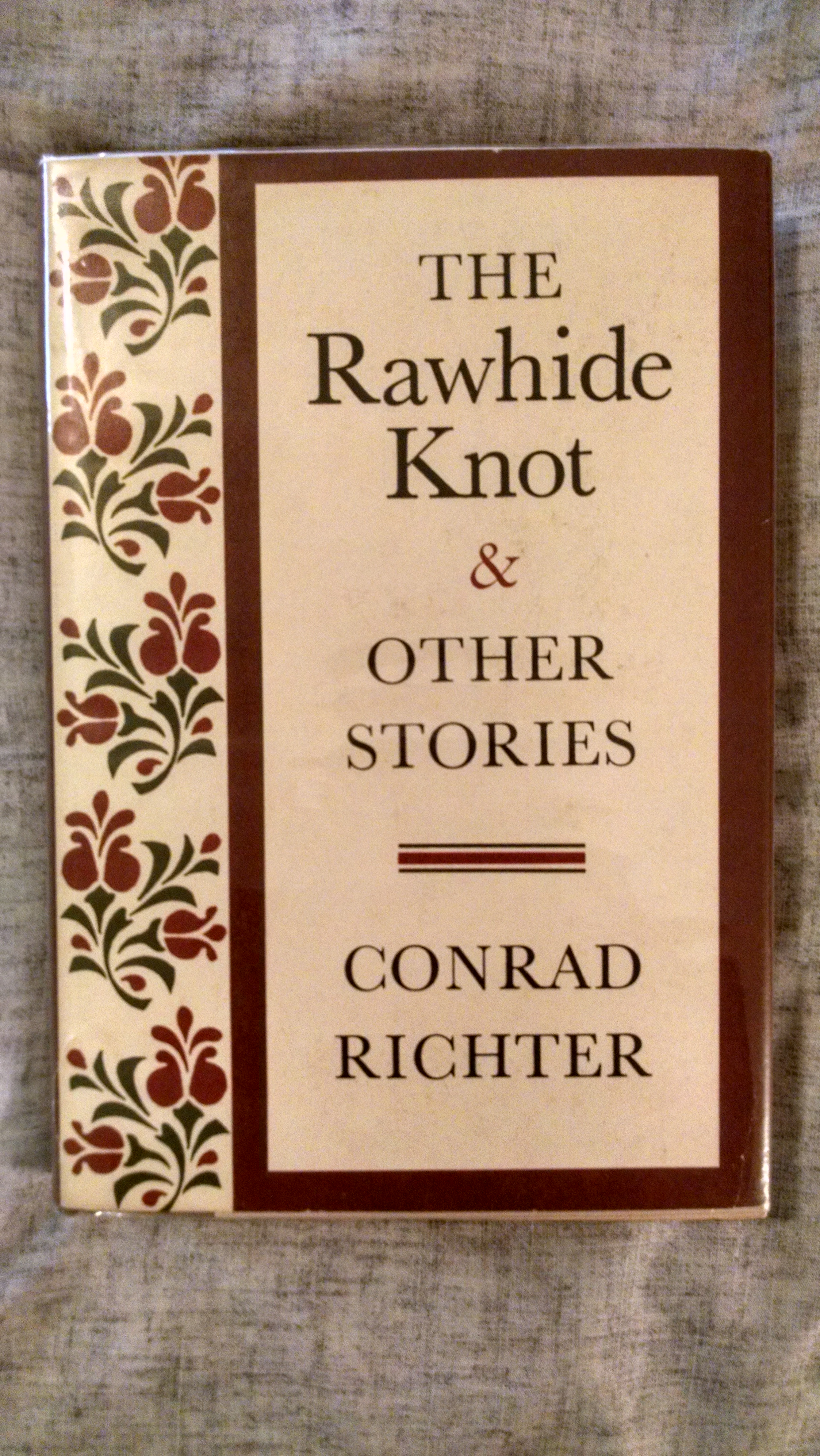 Image for THE RAWHIDE KNOT &OTHER STORIES