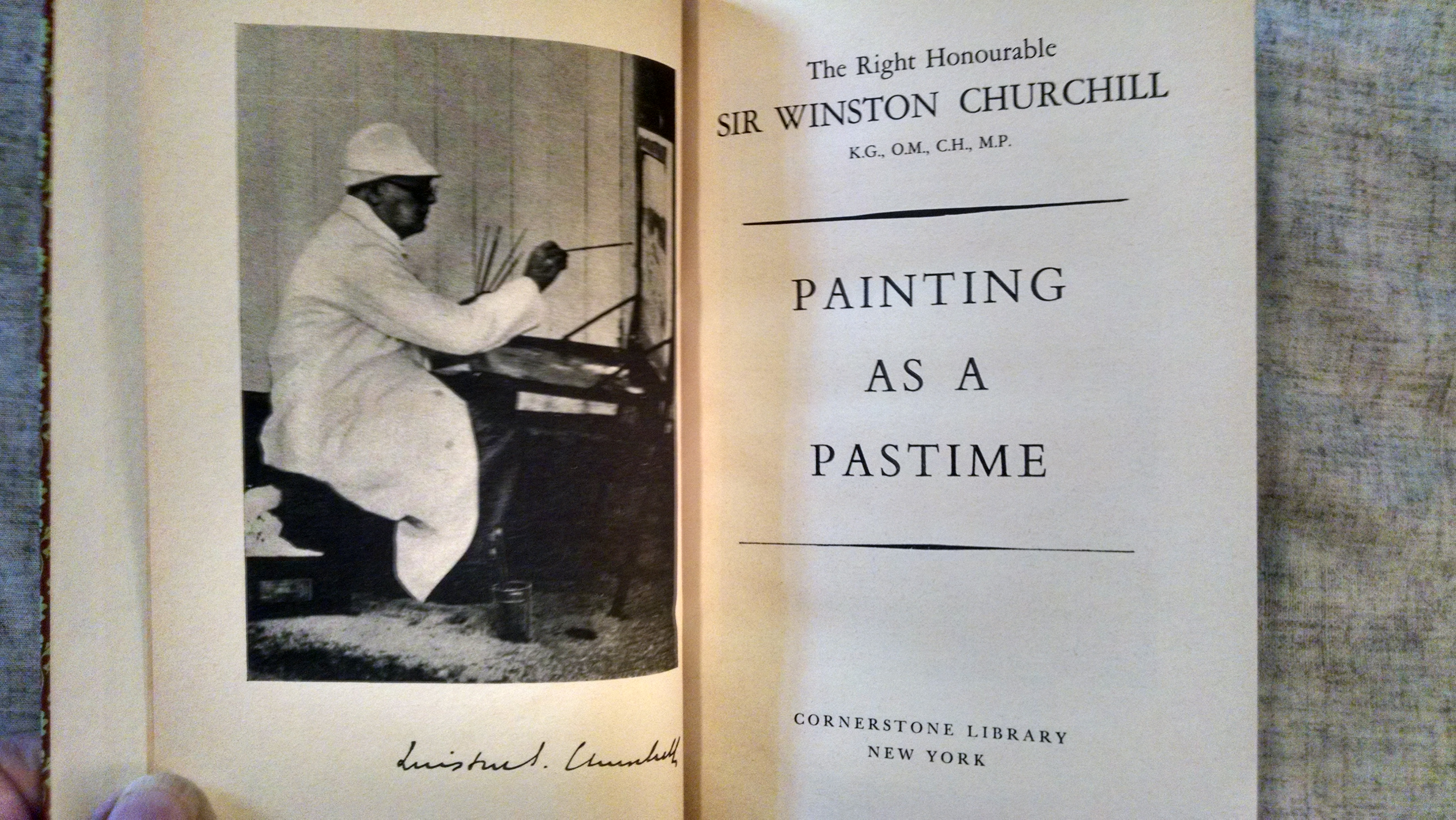 Image for PAINTING AS A PASTIME