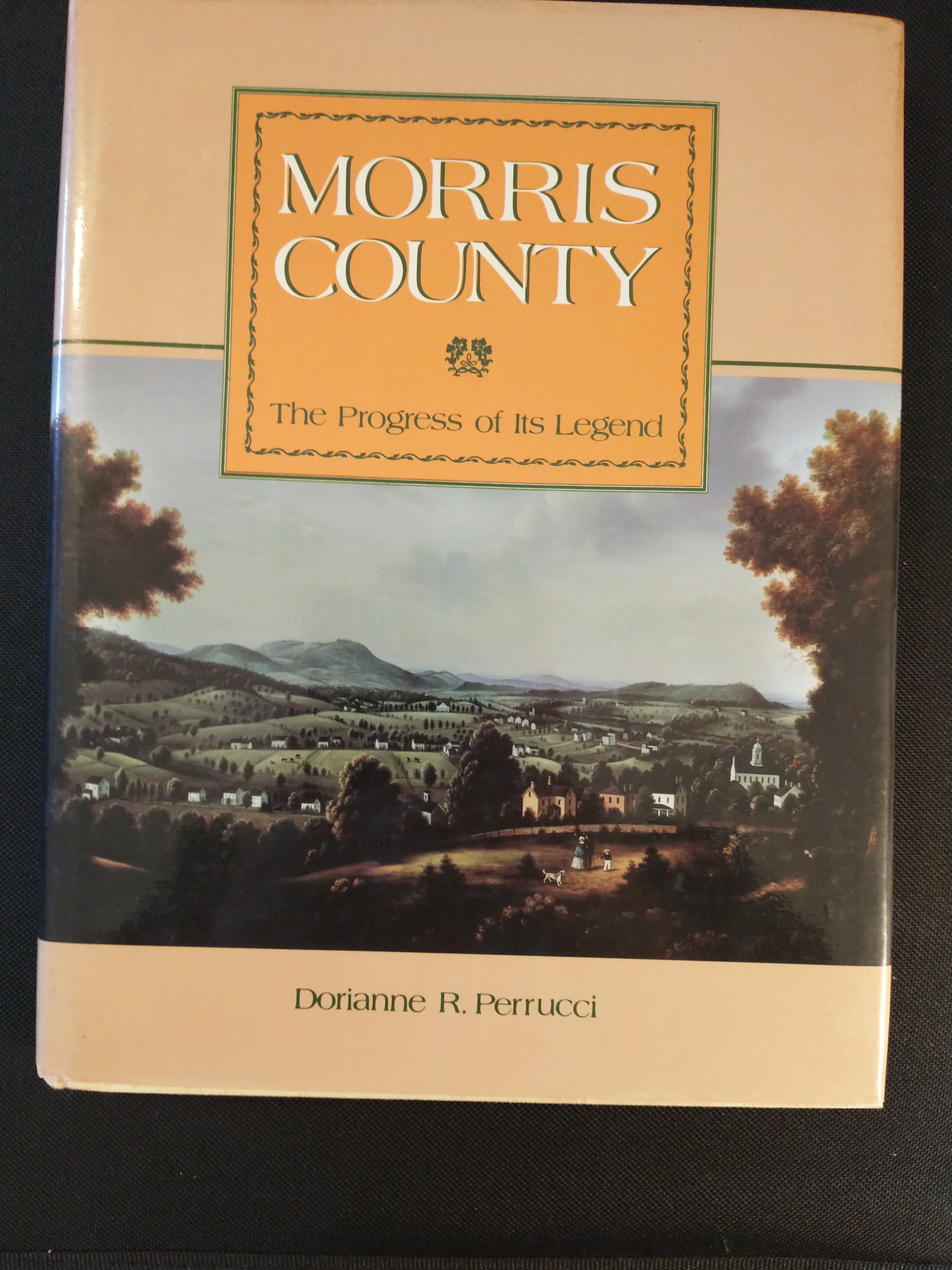 Image for MORRIS COUNTY THE PROGRESS OF ITS LEGEND