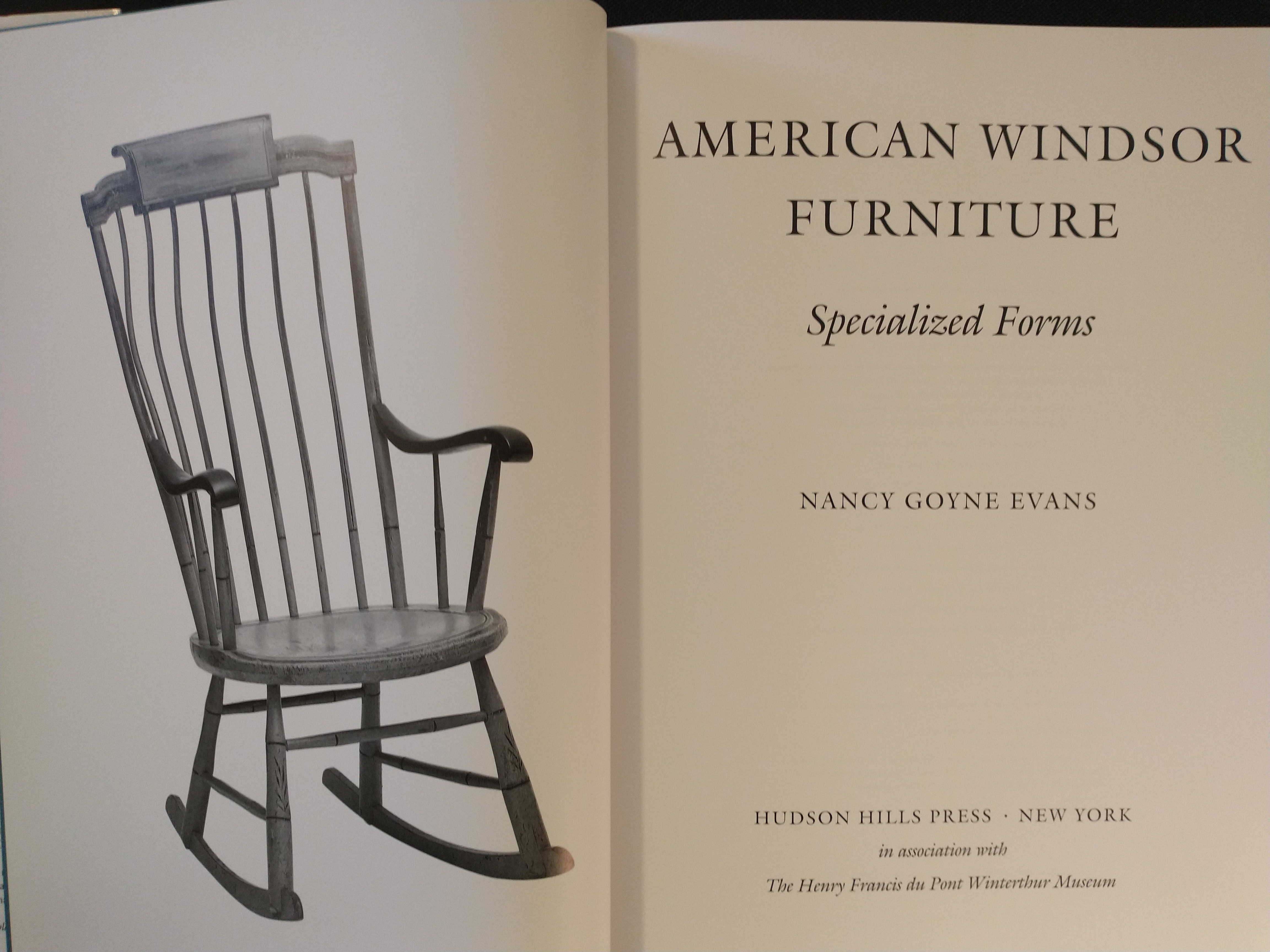 Image for AMERICAN WINDSOR FURNITURE  SPECIALIZED FORMS