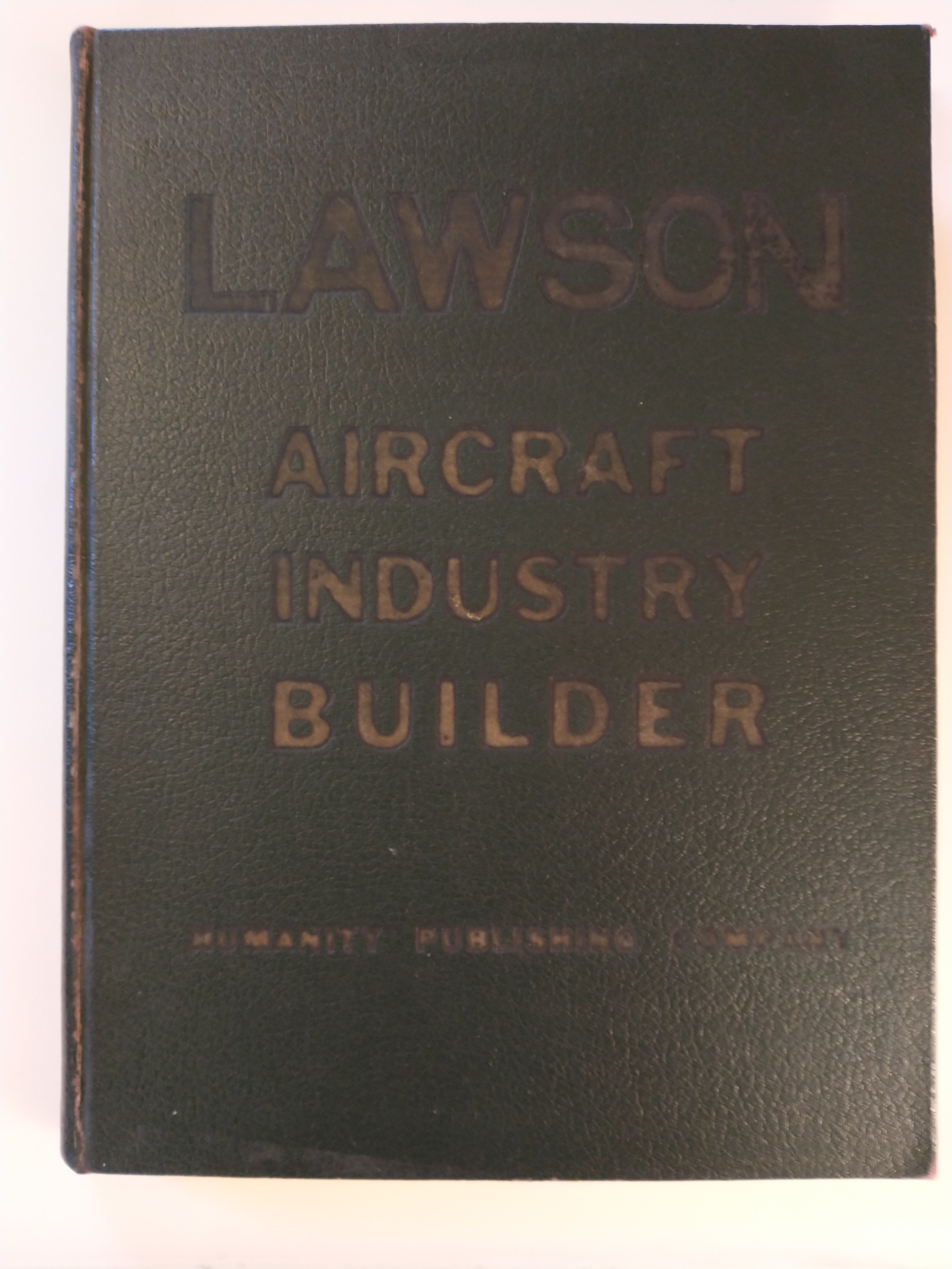 Image for LAWSON  AIRCRAFT INDUSTRY BUILDER