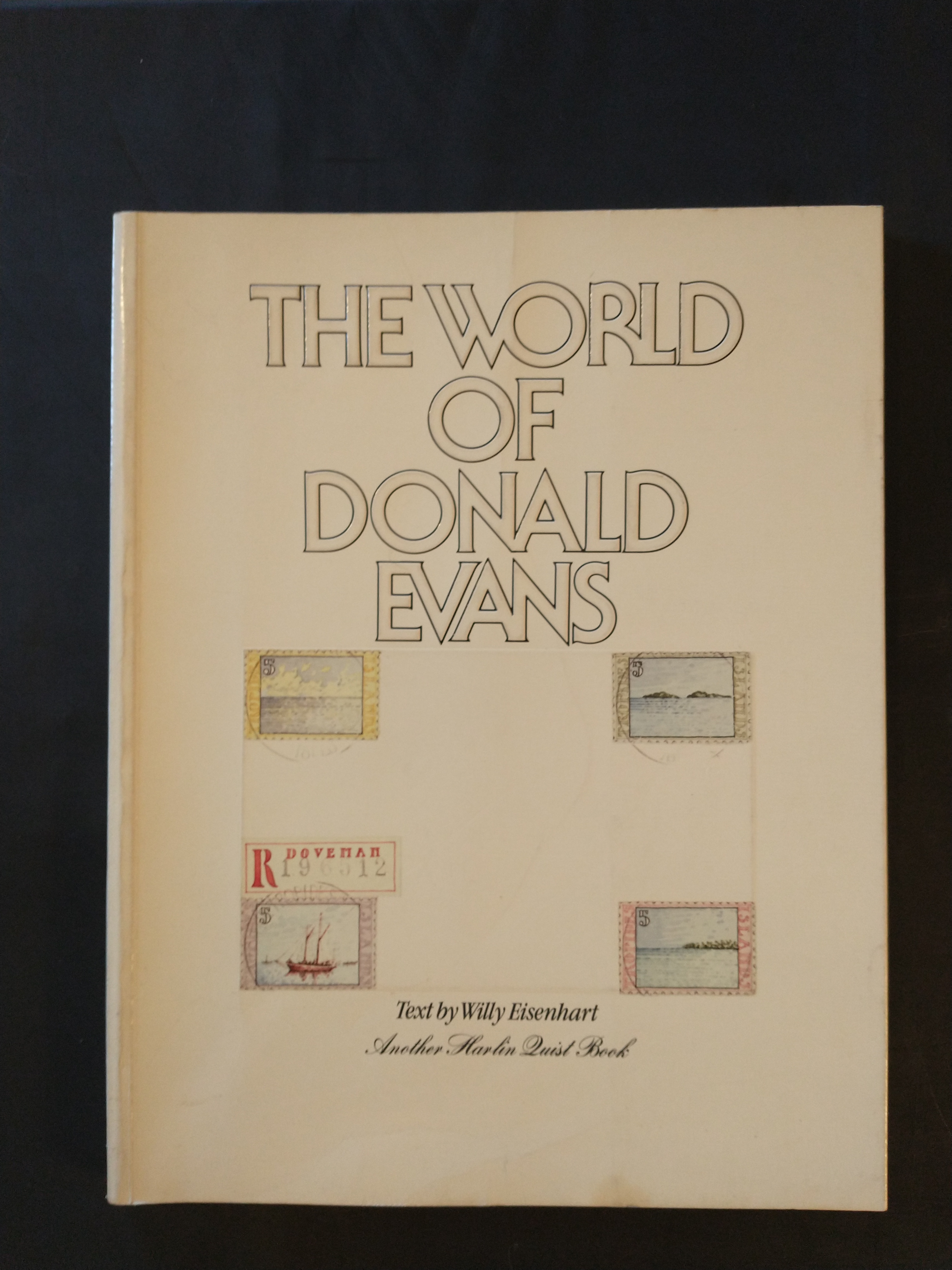 Image for THE WORLD OF DONALD EVANS