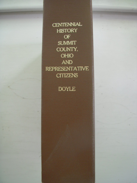 Image for Centennial History of Summit County, Ohio and Representative Citizens