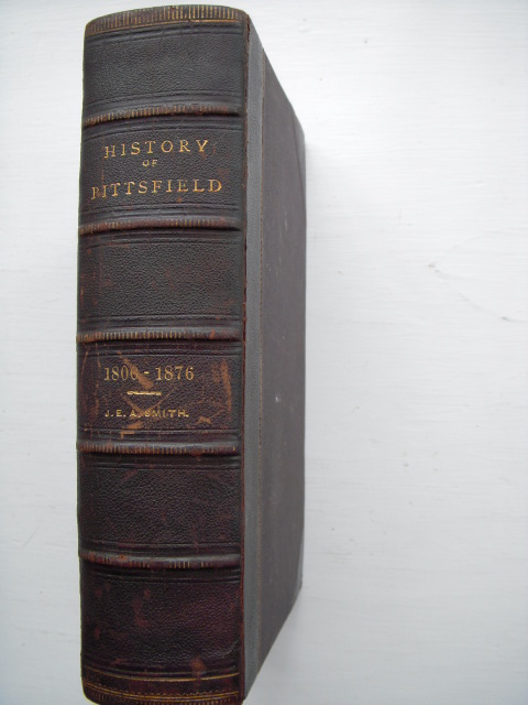 Image for The History of Pittsfield (Berkshire County)  Massachusetts From the Year 1800 to 1876